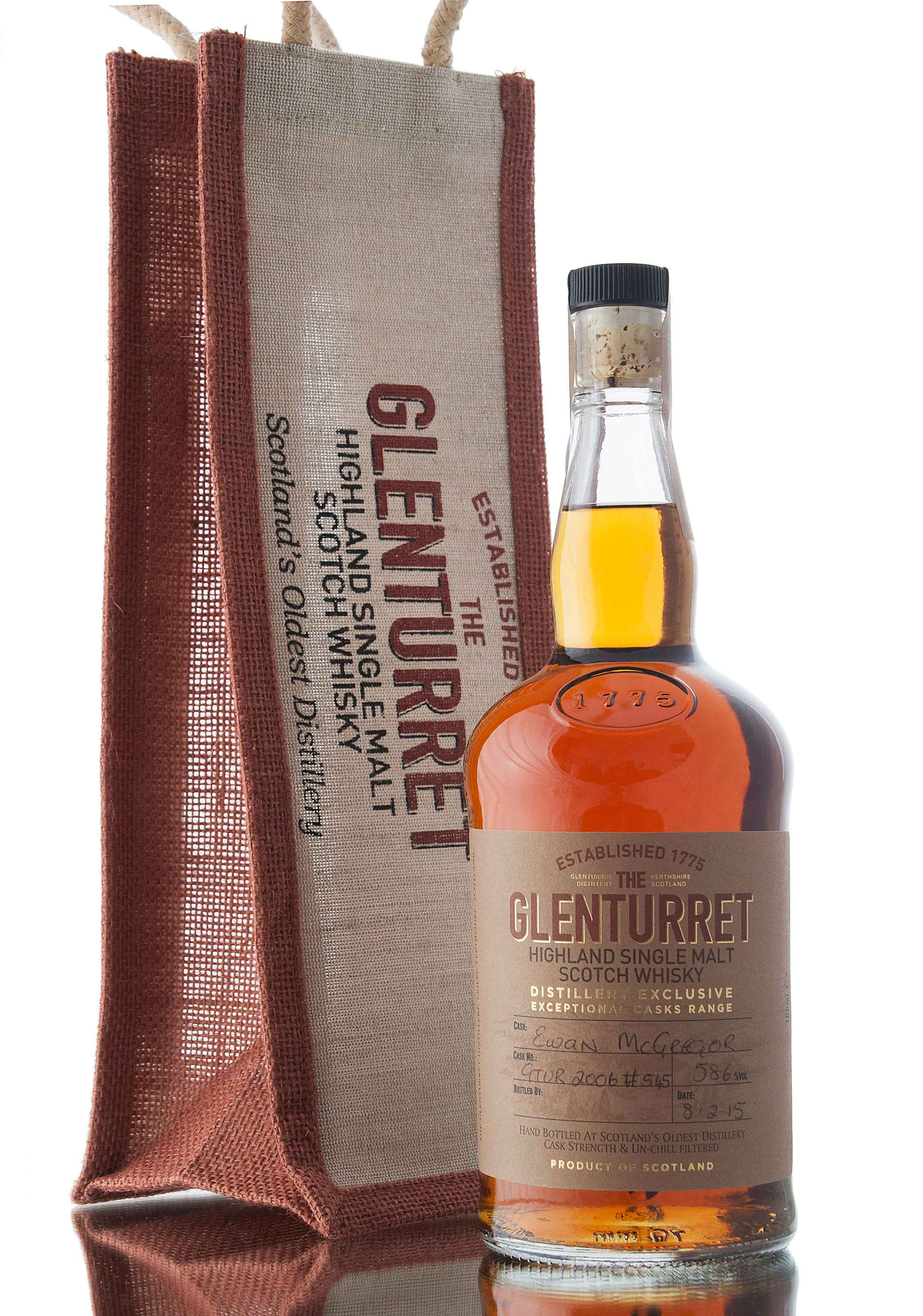 Glenturret 2006 - Single Cask #545 / Ewan McGregor