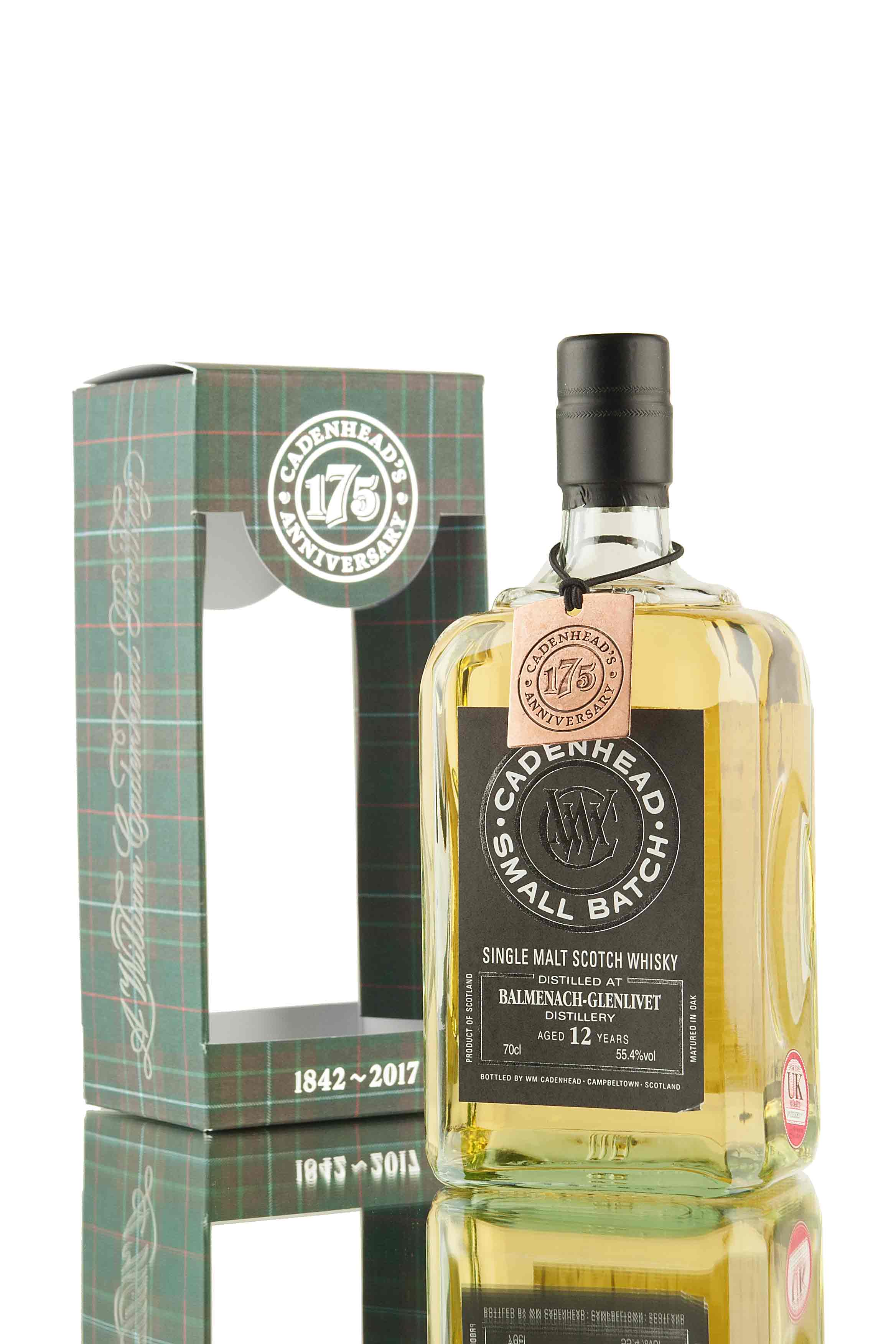 Balmenach 12 Year Old - 2005 | Small Batch (WM Cadenhead)