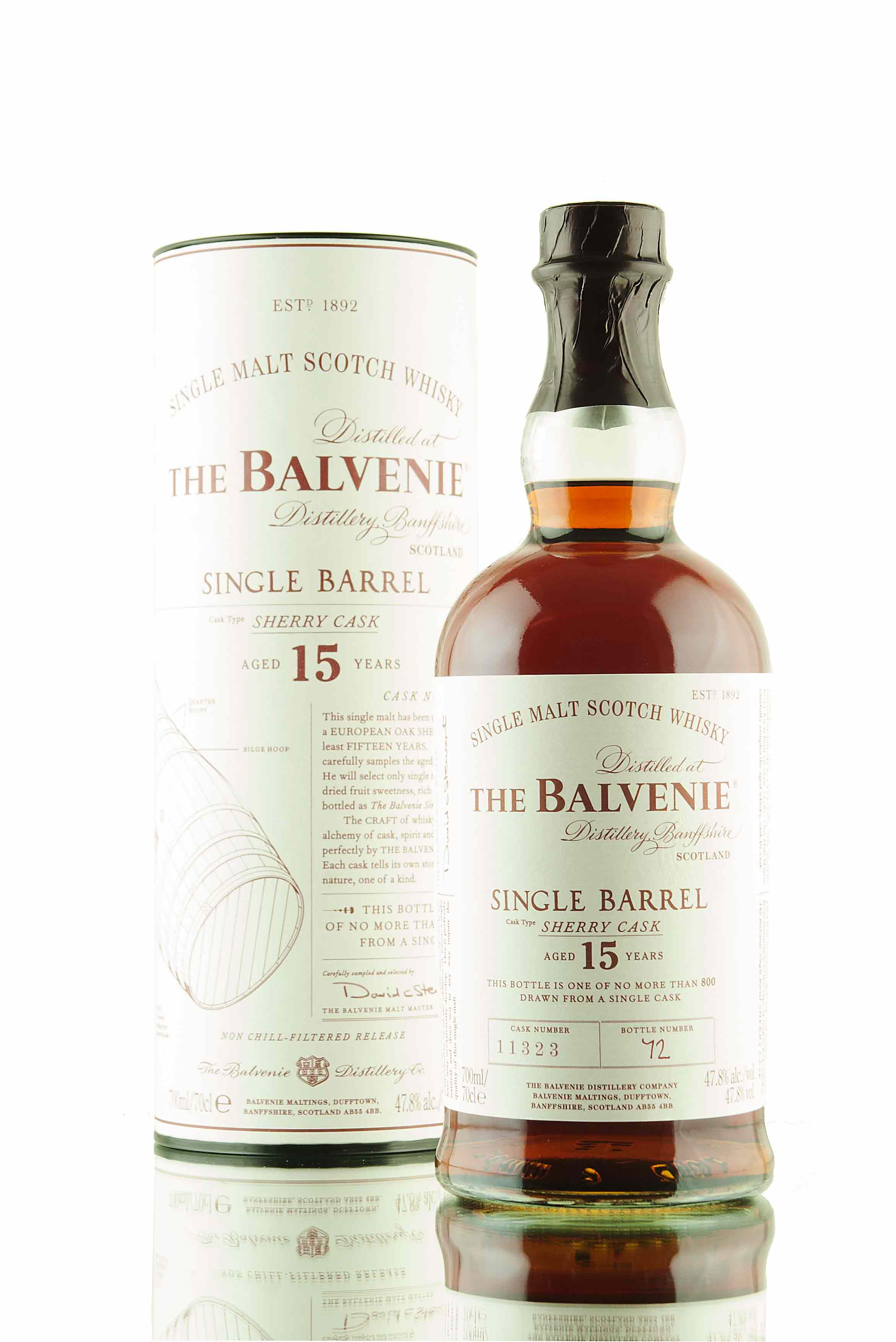 Balvenie Single Barrel 15 Year Old | Cask 11323