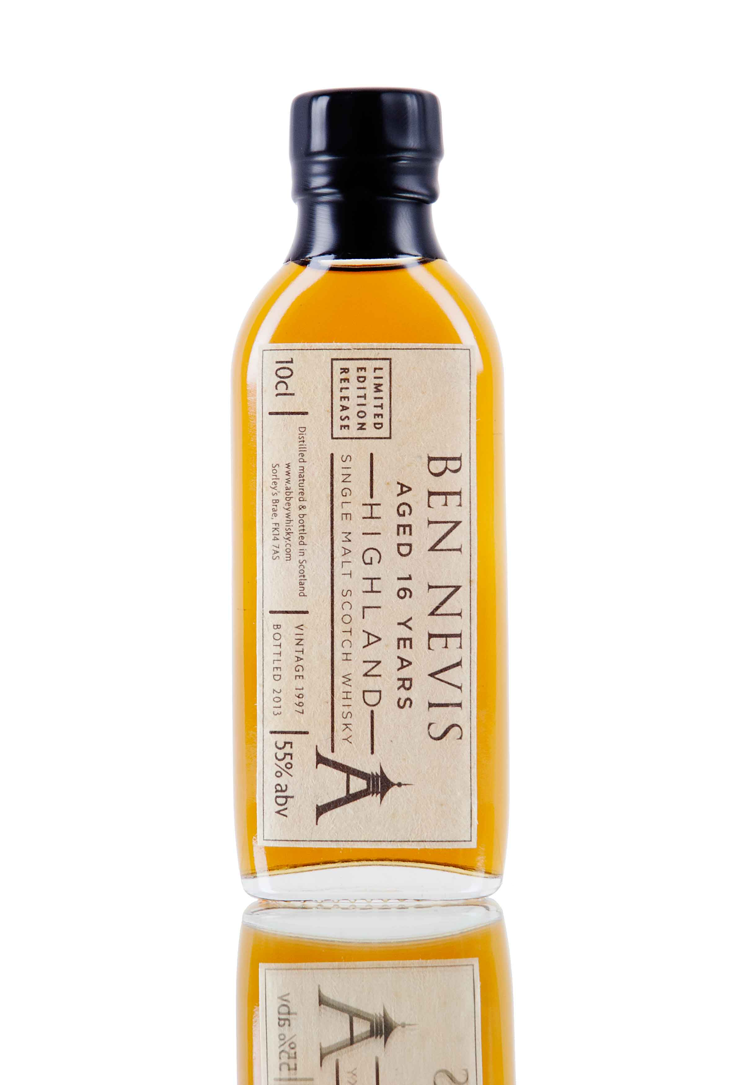 Ben Nevis 16 Year Old - The Rare Casks / 10cl Sample
