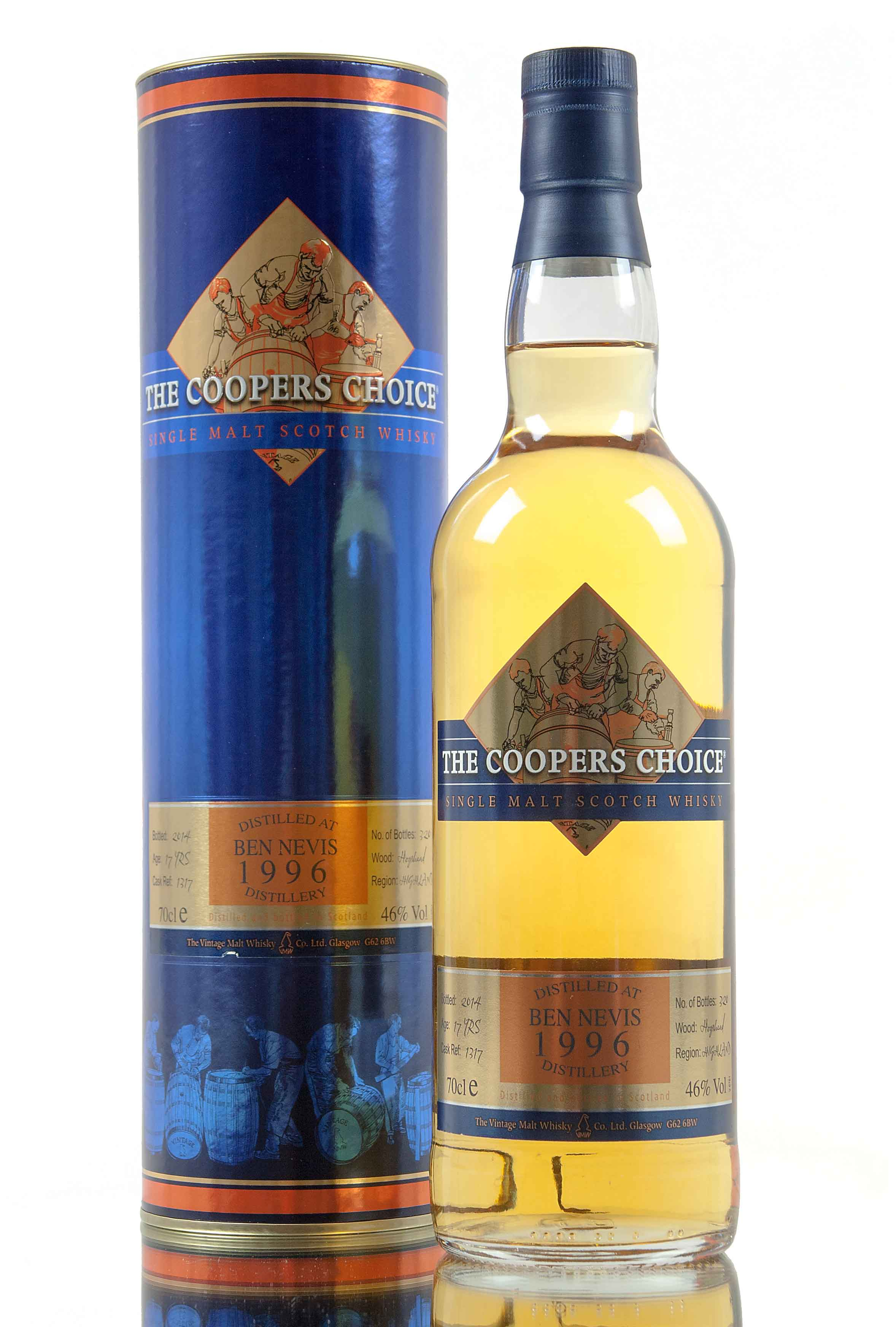 Ben Nevis 17 Year Old - 1996 / The Coopers Choice / Cask 1317
