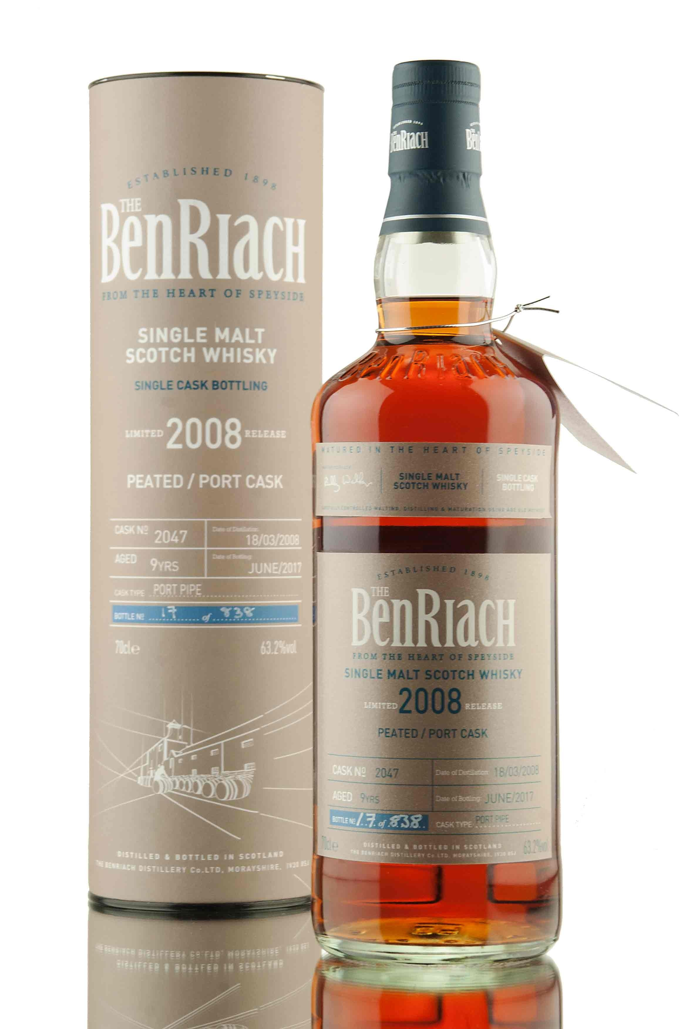BenRiach 9 Year Old - 2008 | Cask 2047 | Batch 14