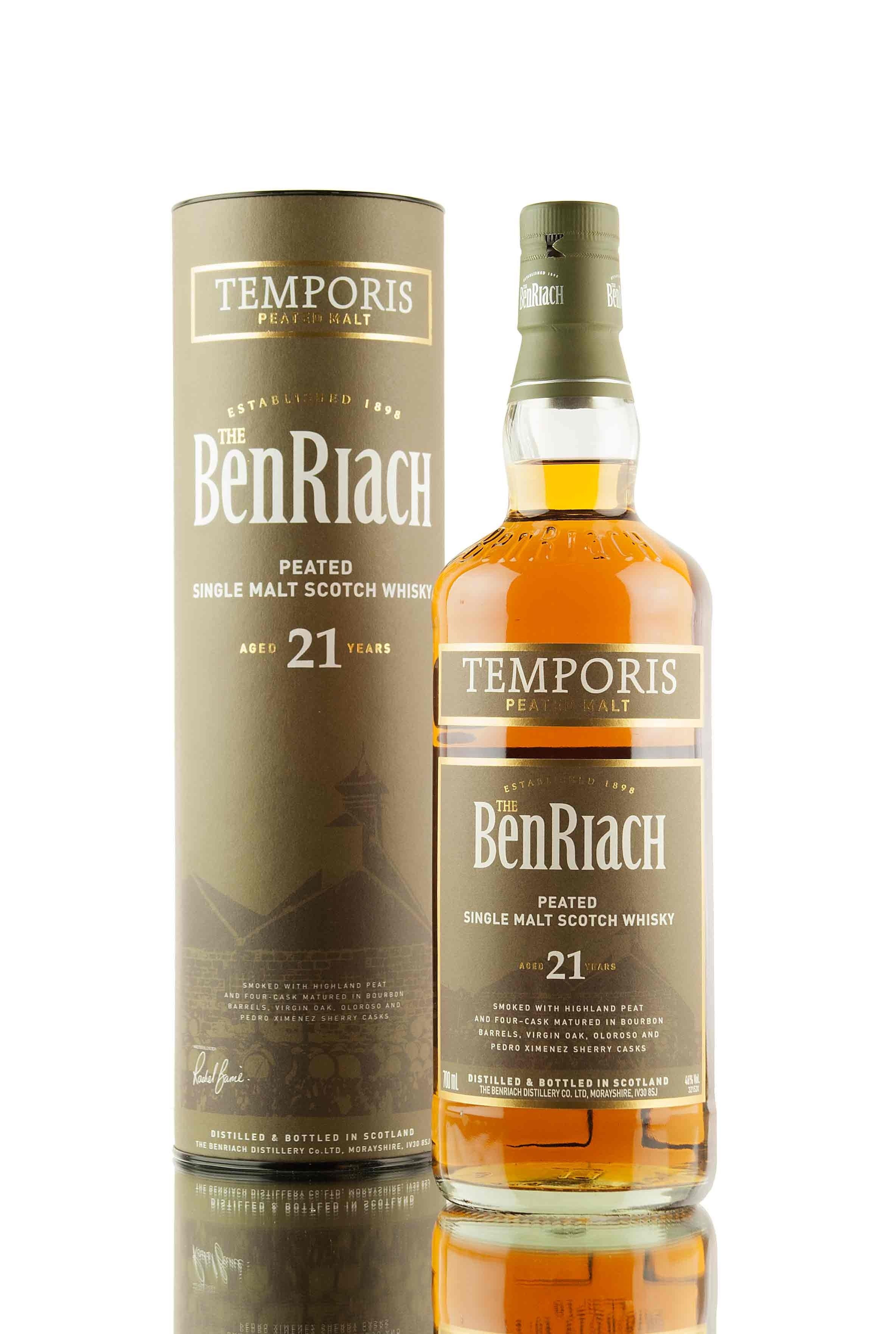 BenRiach 21 Year Old Temporis