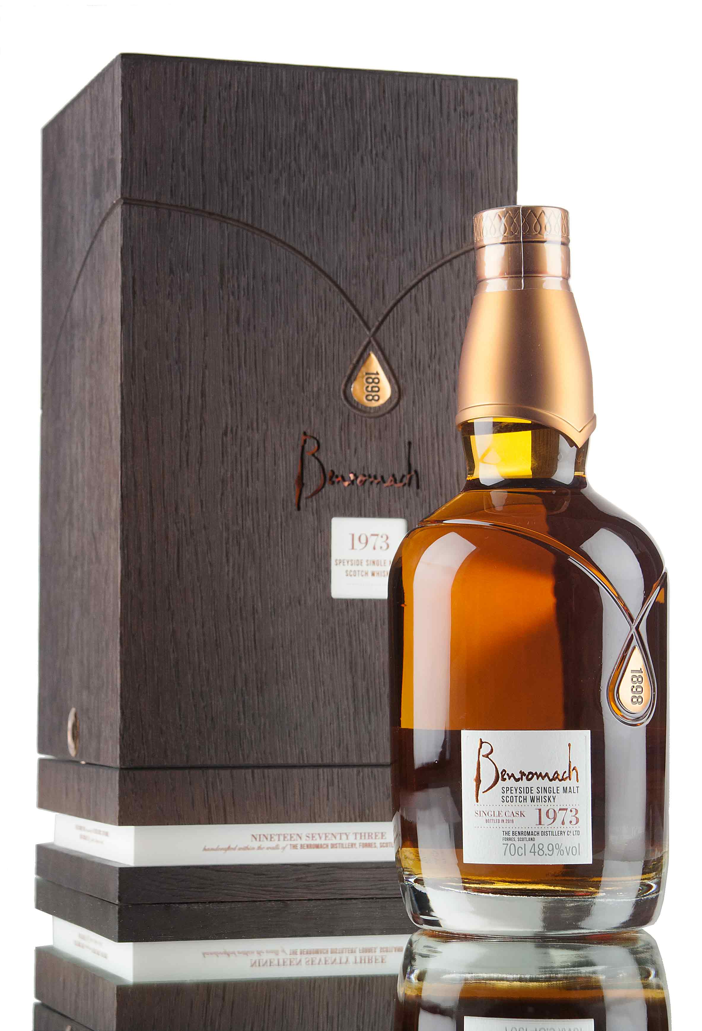 Benromach 42 Year Old - 1973 / Single Cask 4606