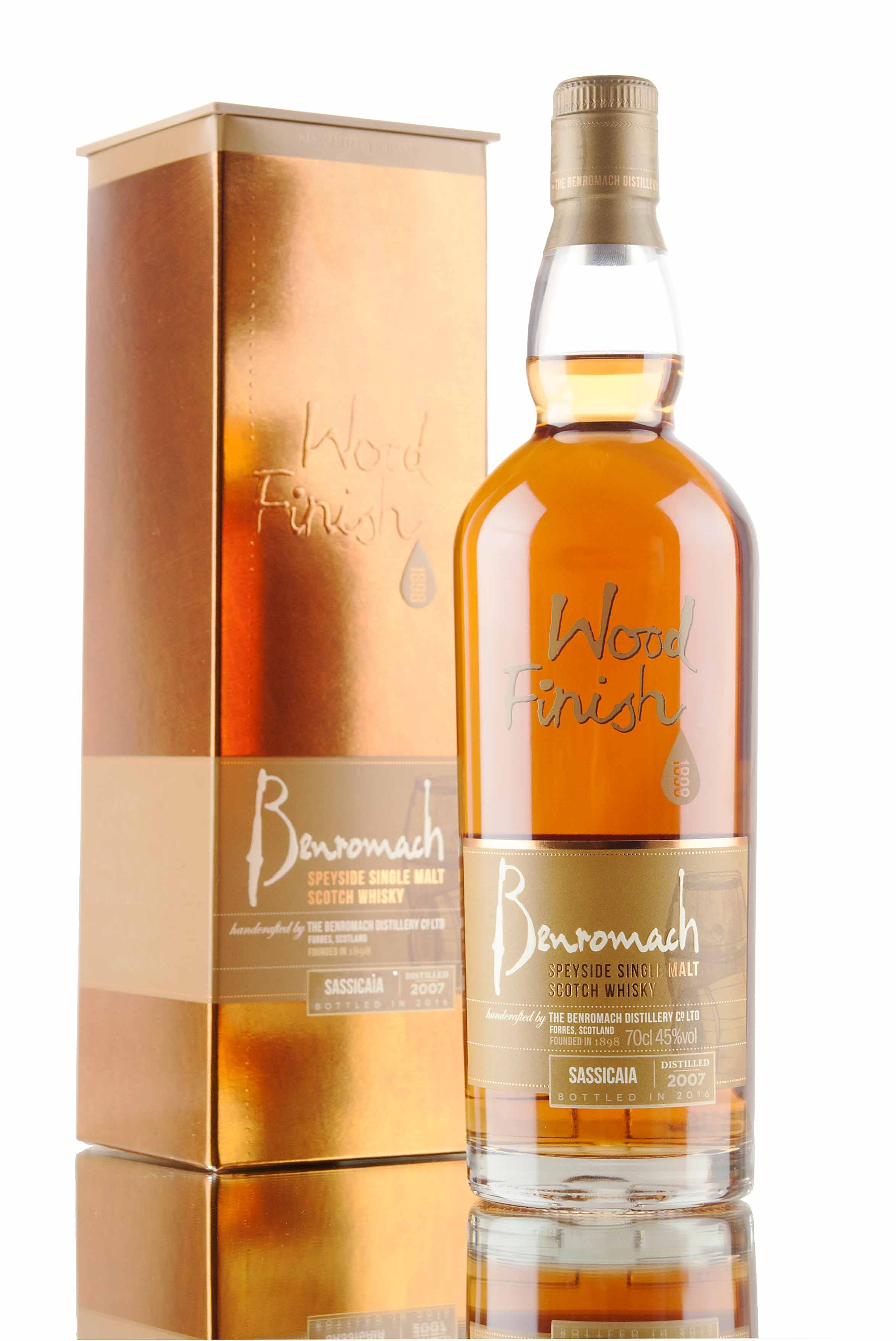 Benromach Sassicaia 2007 / Bottled 2016
