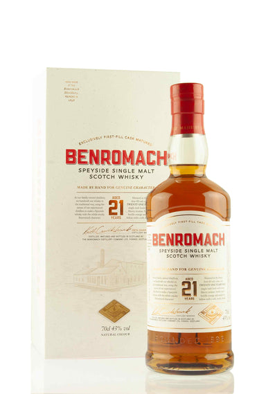 Benromach 21 Year Old Speyside Whisky | Abbey Whisky