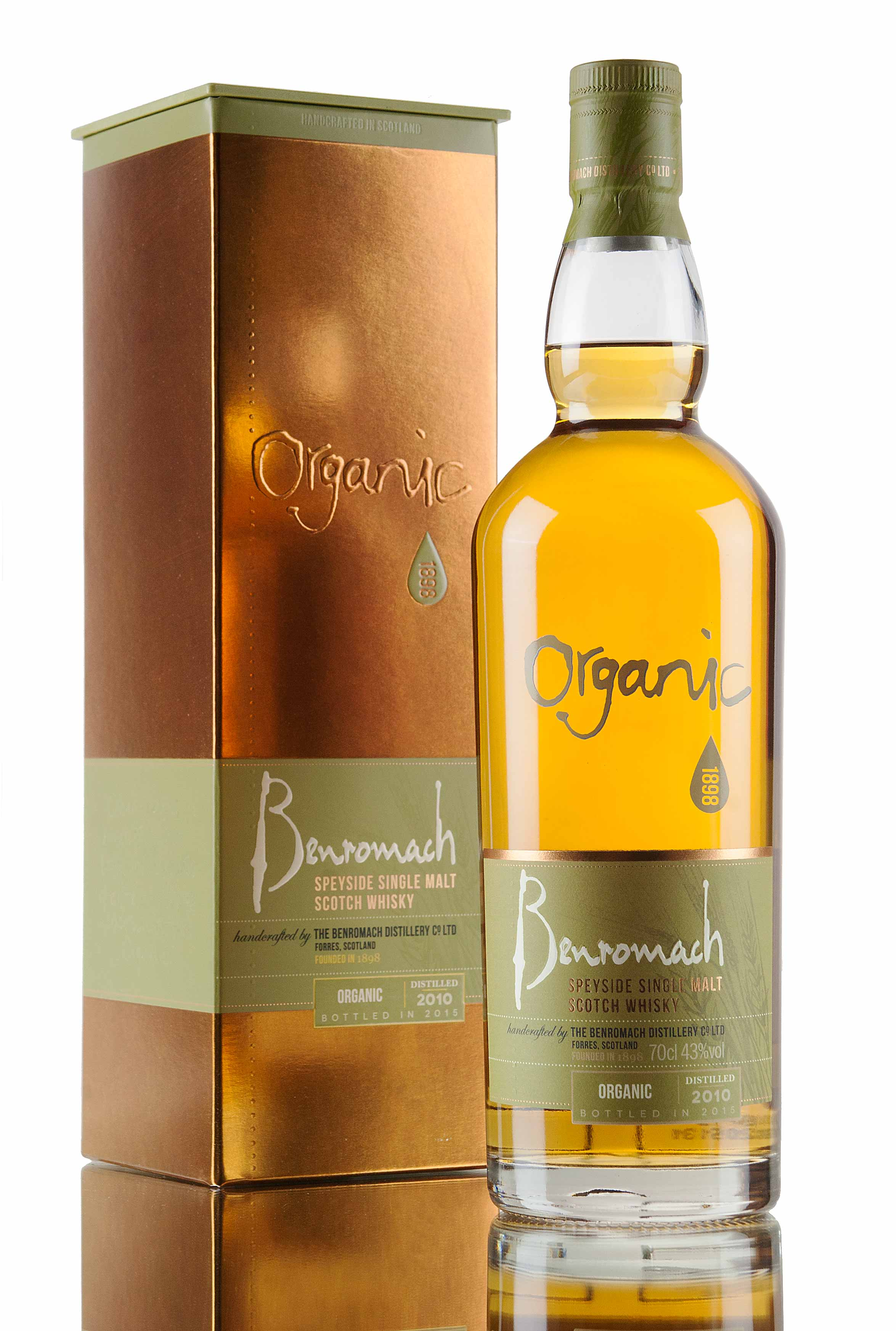 Benromach Organic 2010 / Bottled 2015