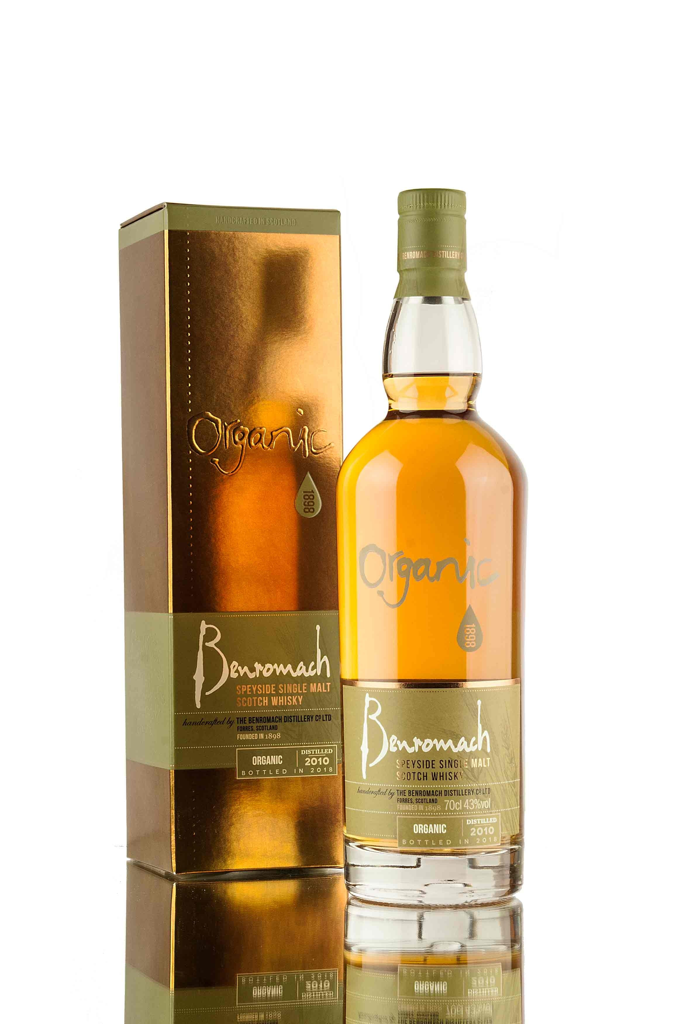 Benromach Organic 2010 | Bottled 2018
