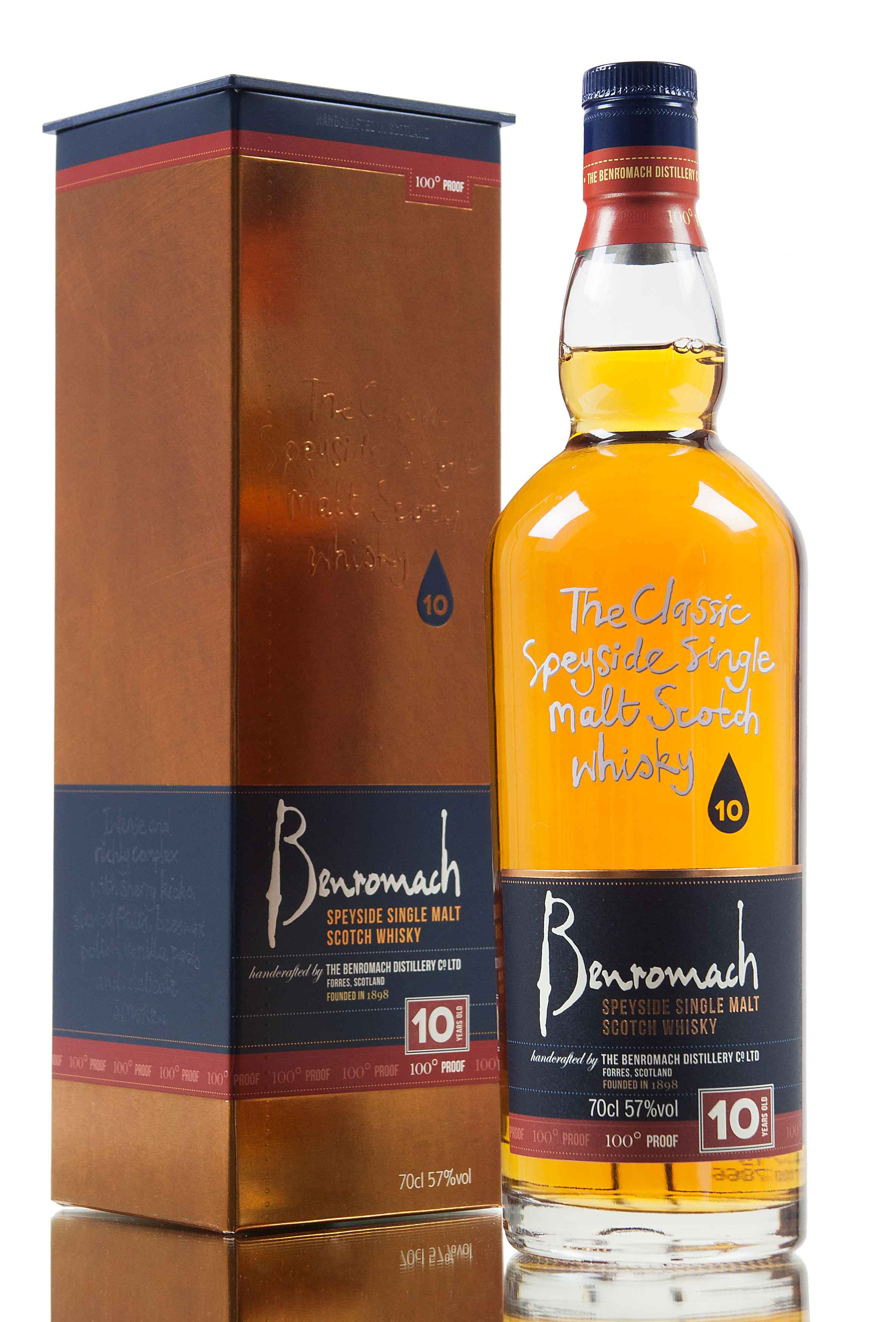 Benromach 10 Year Old / 100° Proof