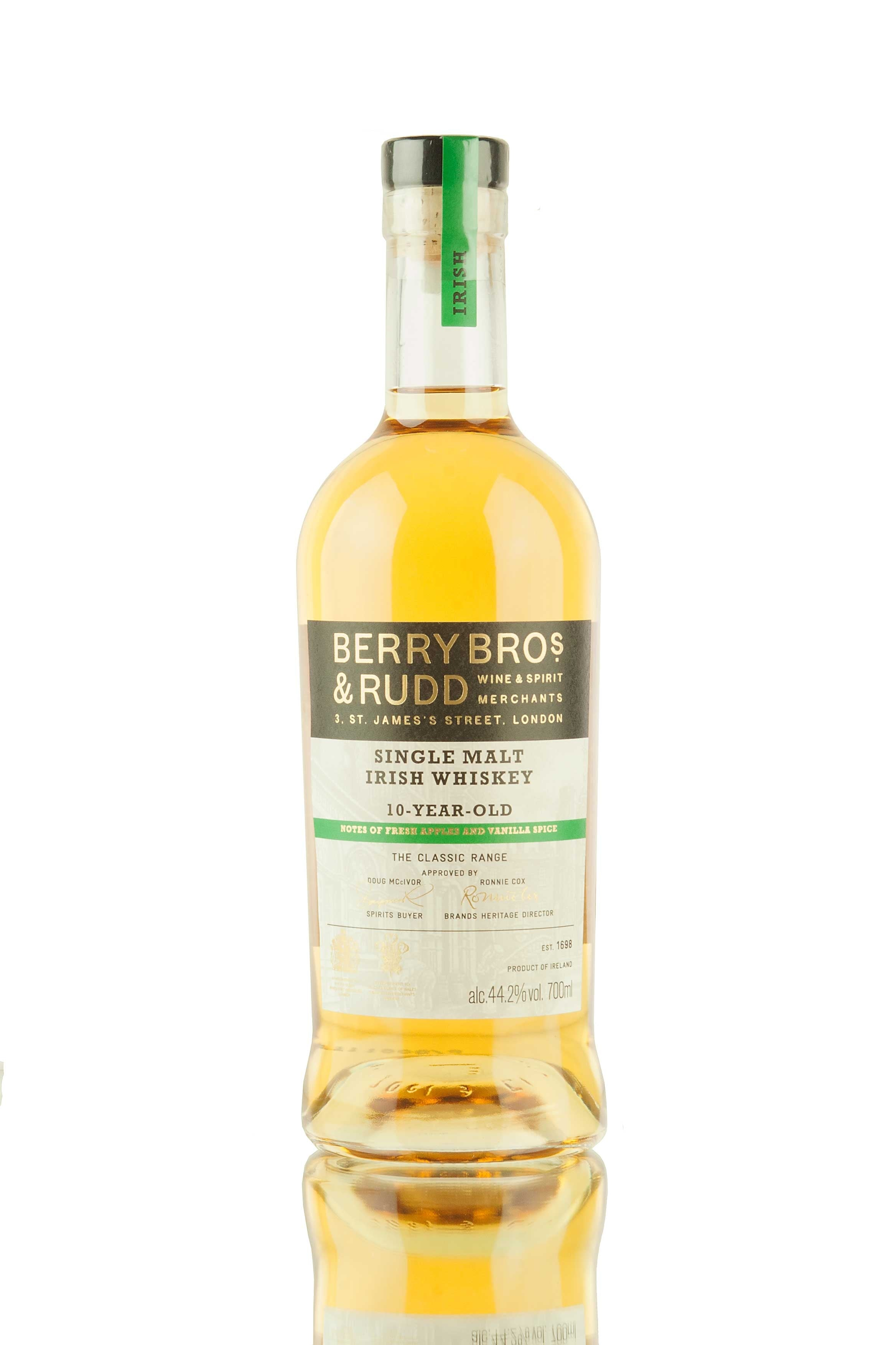 Berry Bros & Rudd The Classic Range Irish Whiskey