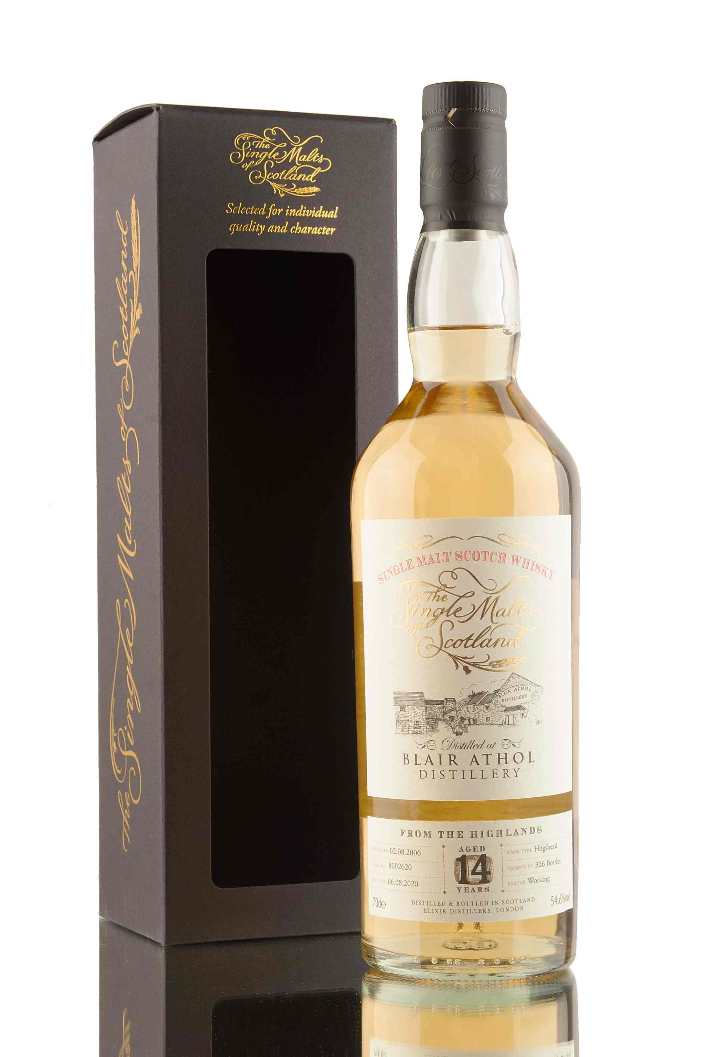 Blair Athol 14 Year Old - 2006 | The Single Malts of Scotland | Abbey Whisky