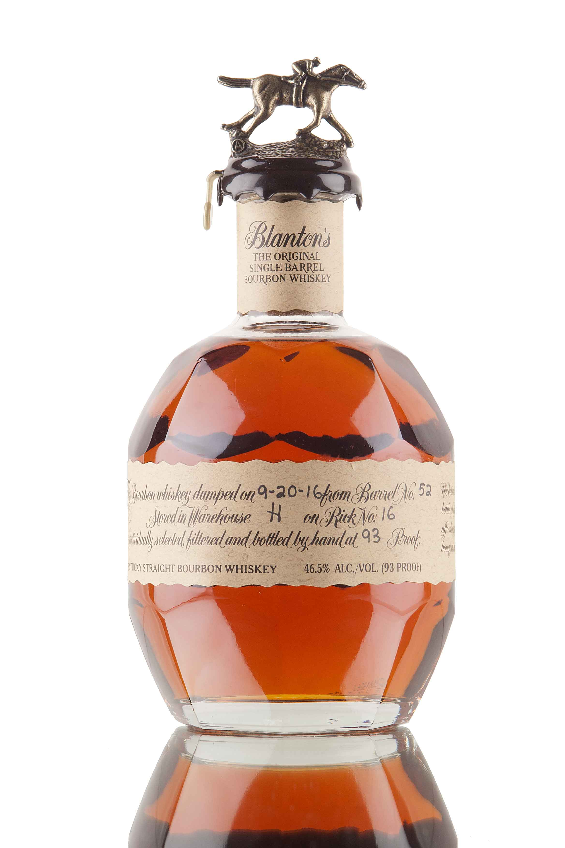 Blanton's Original Single Barrel #52