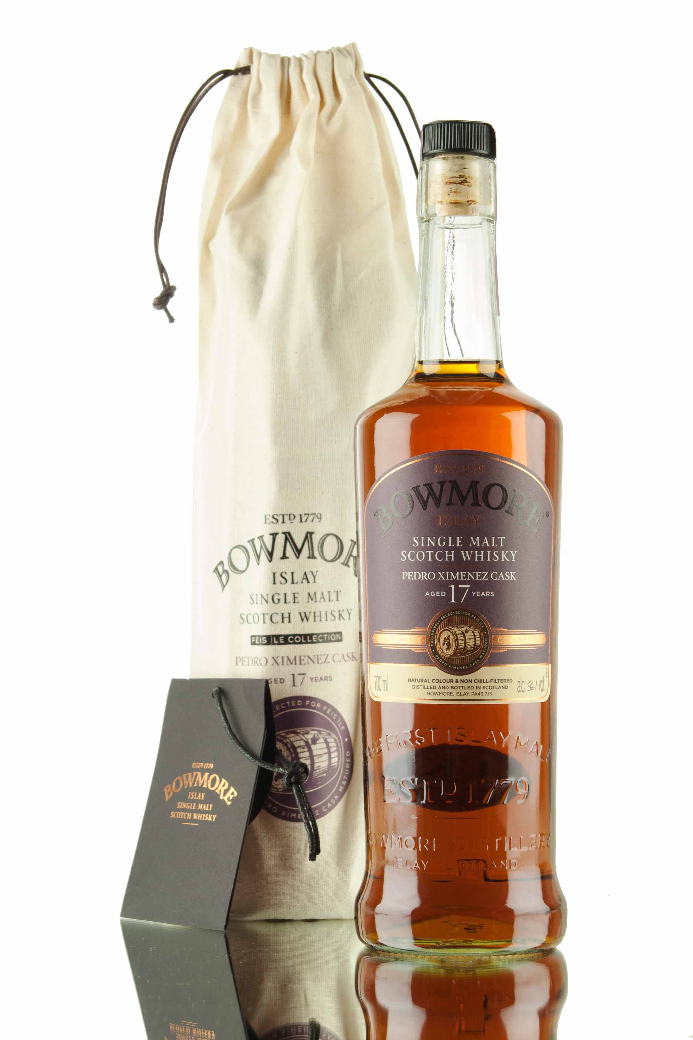 Bowmore 17 Year Old - Hand Filled / Feis Ile 2016