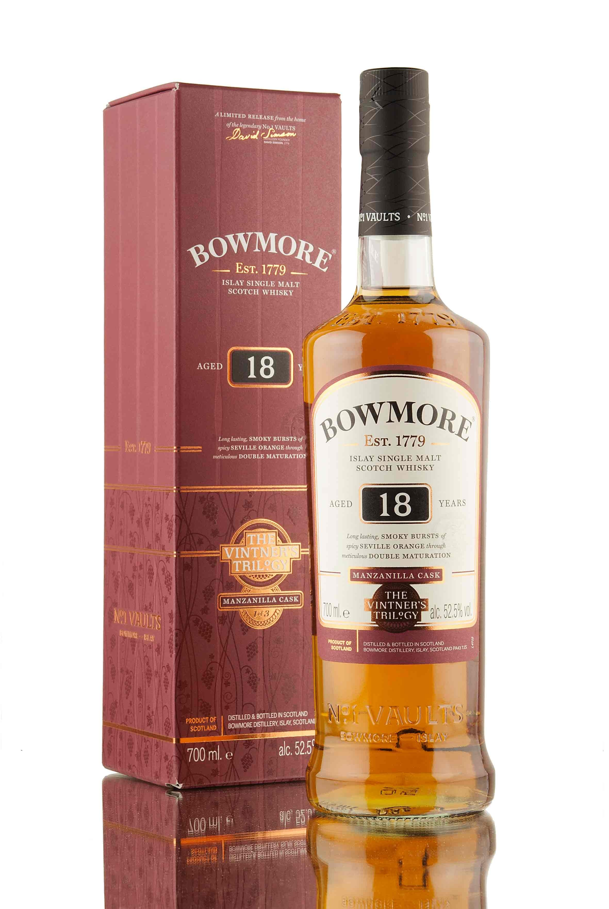 Bowmore 18 Year Old | The Vinter's Trilogy