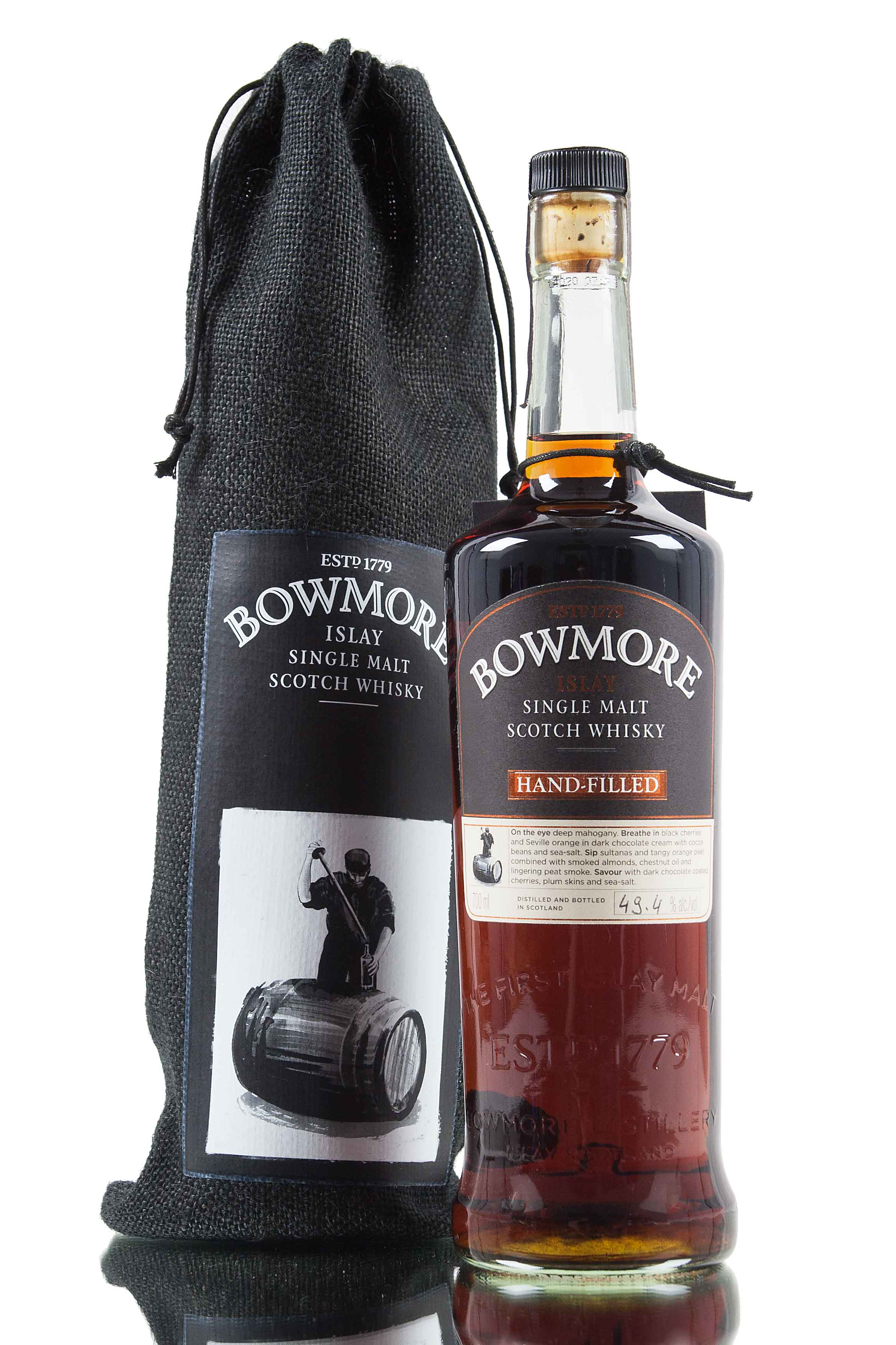 Bowmore Hand Filled 6th Edition - 1995 / Cask 1572