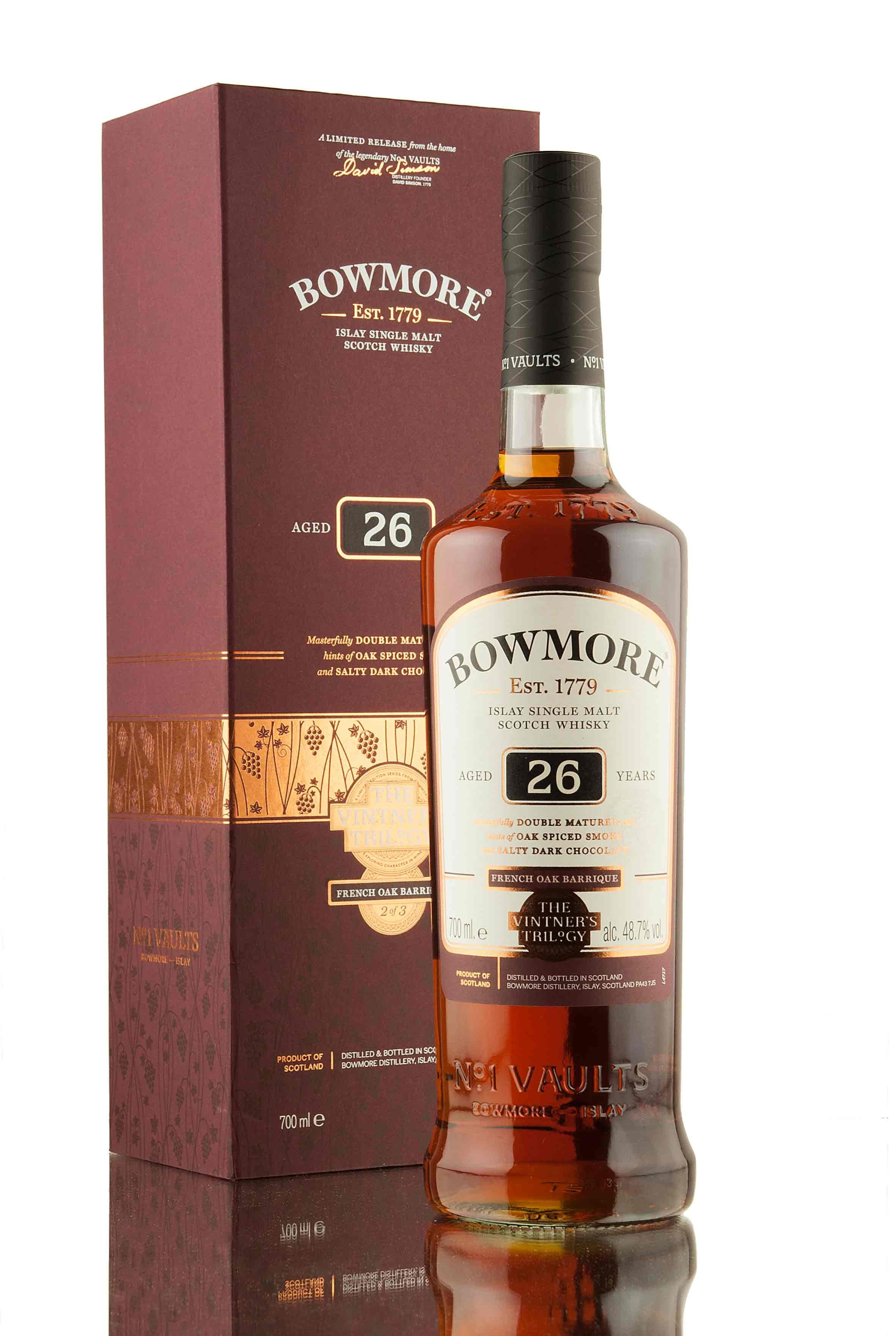 Bowmore 26 Year Old | The Vinter's Trilogy