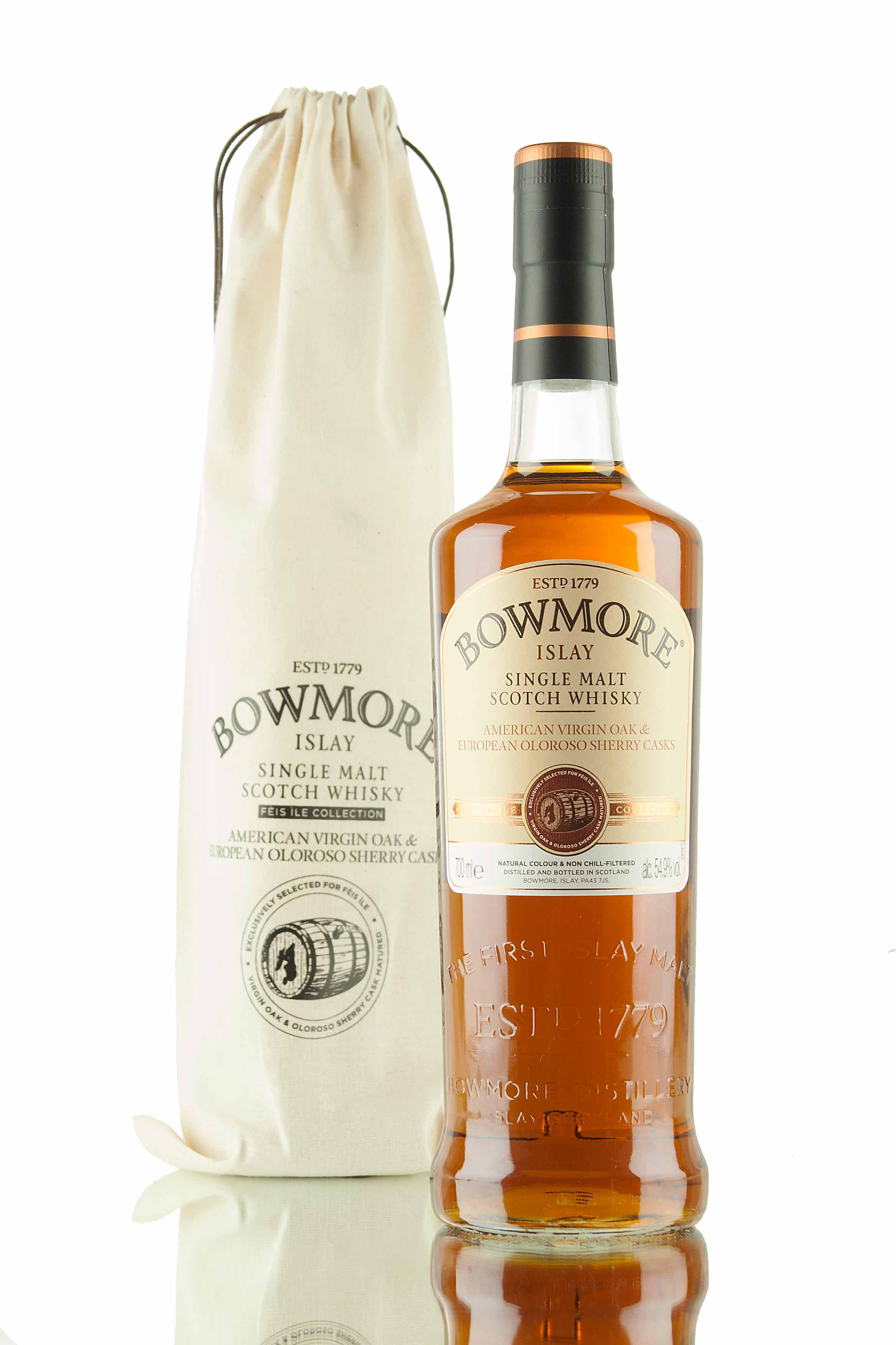 Bowmore Feis Ile 2016 / Virgin Oak & Oloroso Sherry Casks