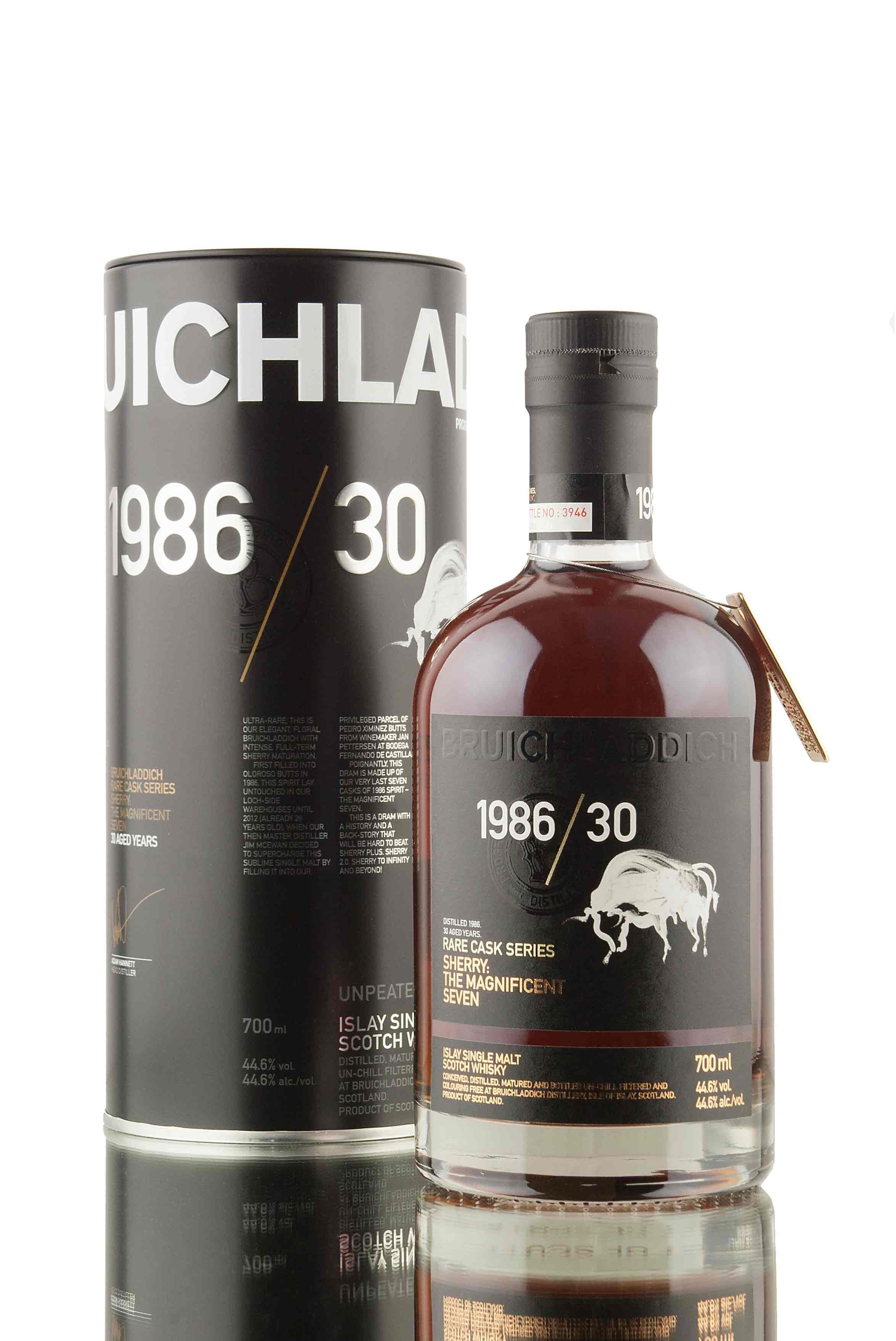 Bruichladdich 1986/30 | Sherry: The Magnificent Seven