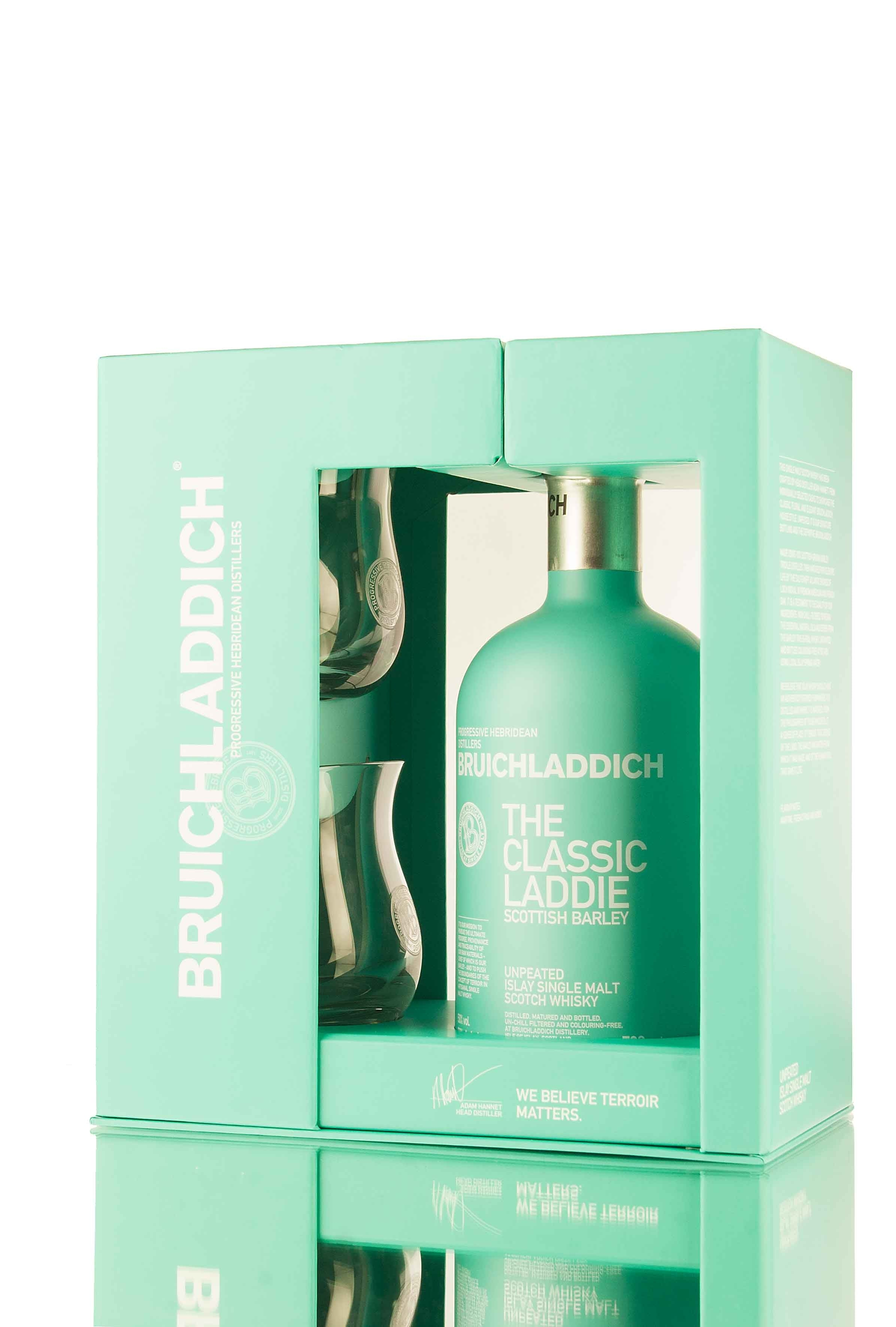 Bruichladdich Classic Laddie Glass Gift Pack