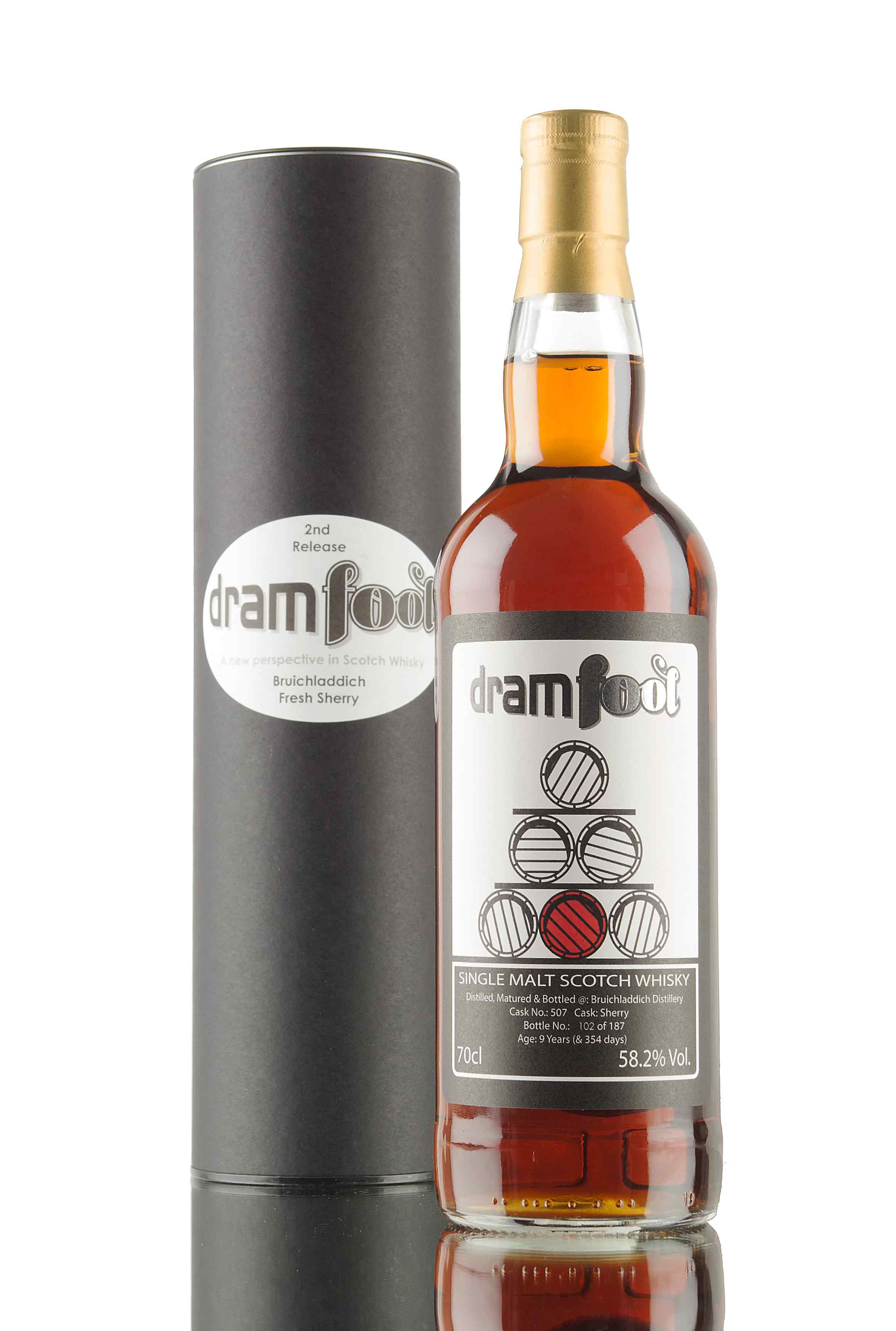 Bowmore 9 Year Old (& 354 Days) - Cask 507 / Dram Fool