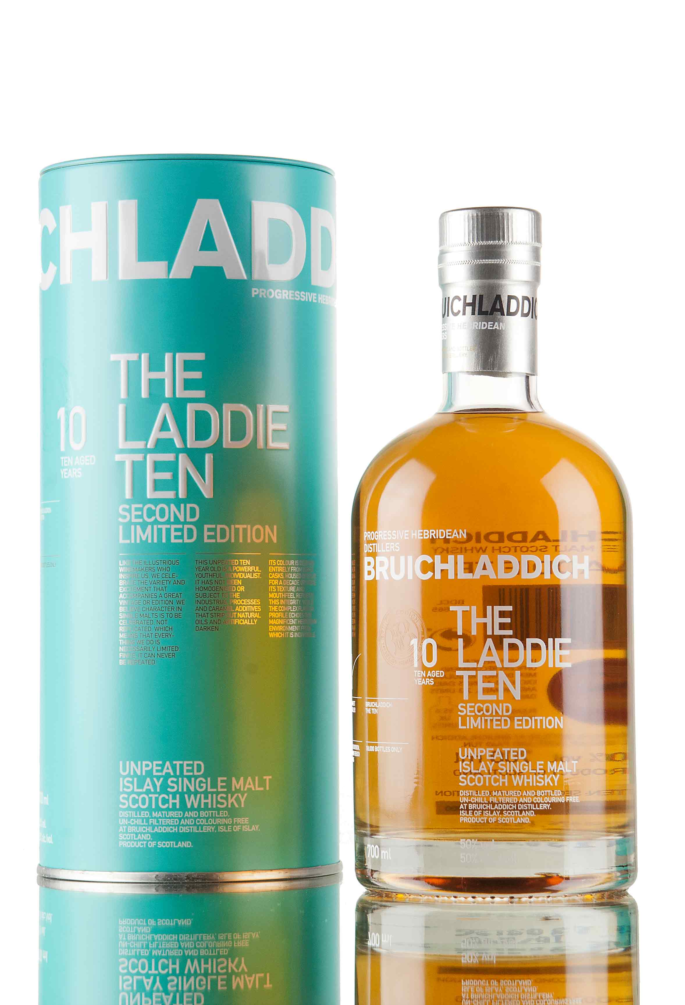 Bruichladdich 10 Year Old - The Laddie Ten 2nd Edition