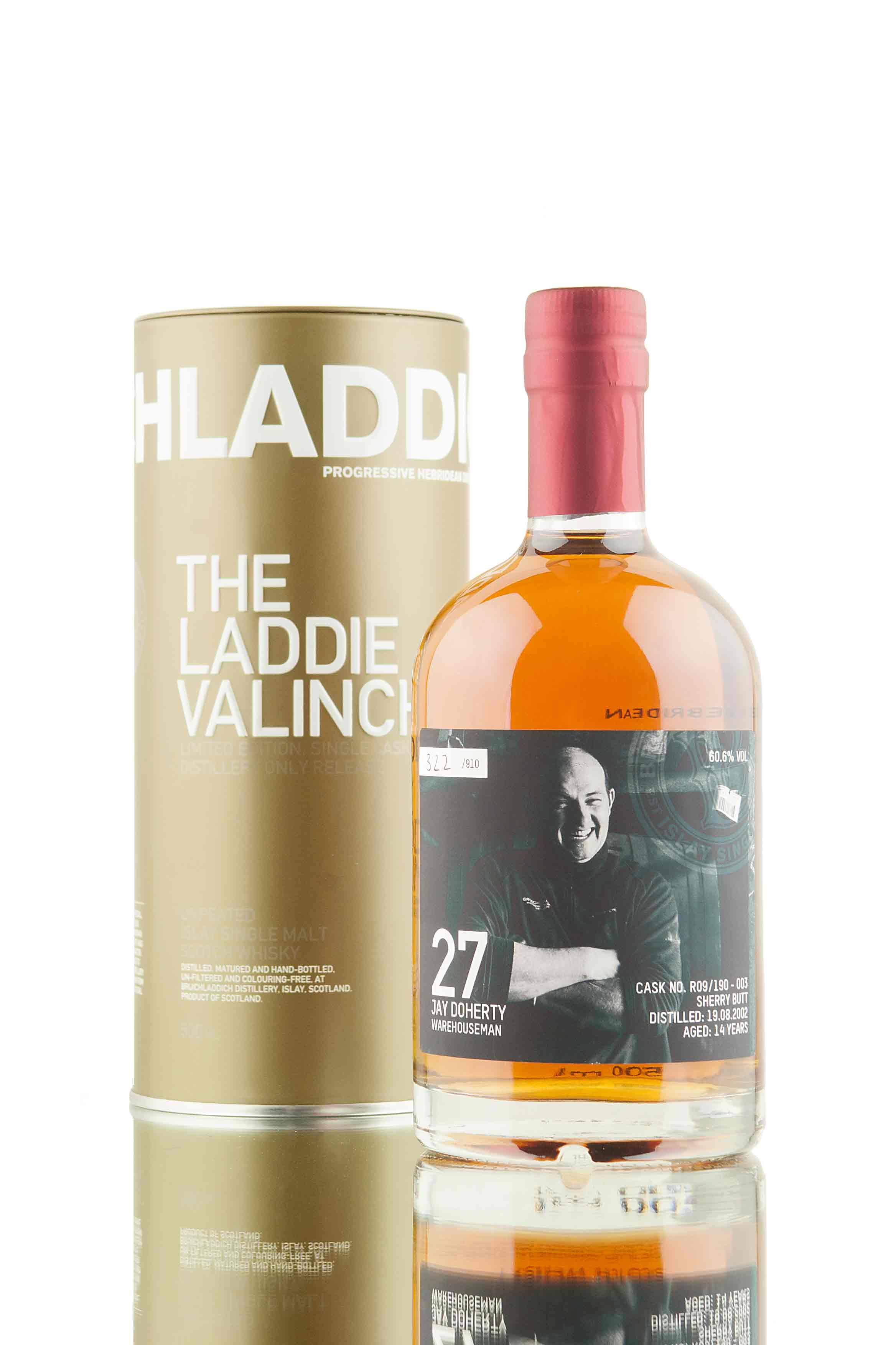 Bruichladdich 14 Year Old - 2002 | Valinch 27 (Jay Doherty)