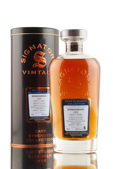 Bunnahabhain 11 Year Old - 2009 | Cask 900087 | Cask Strength Collection - Signatory | Abbey Whisky