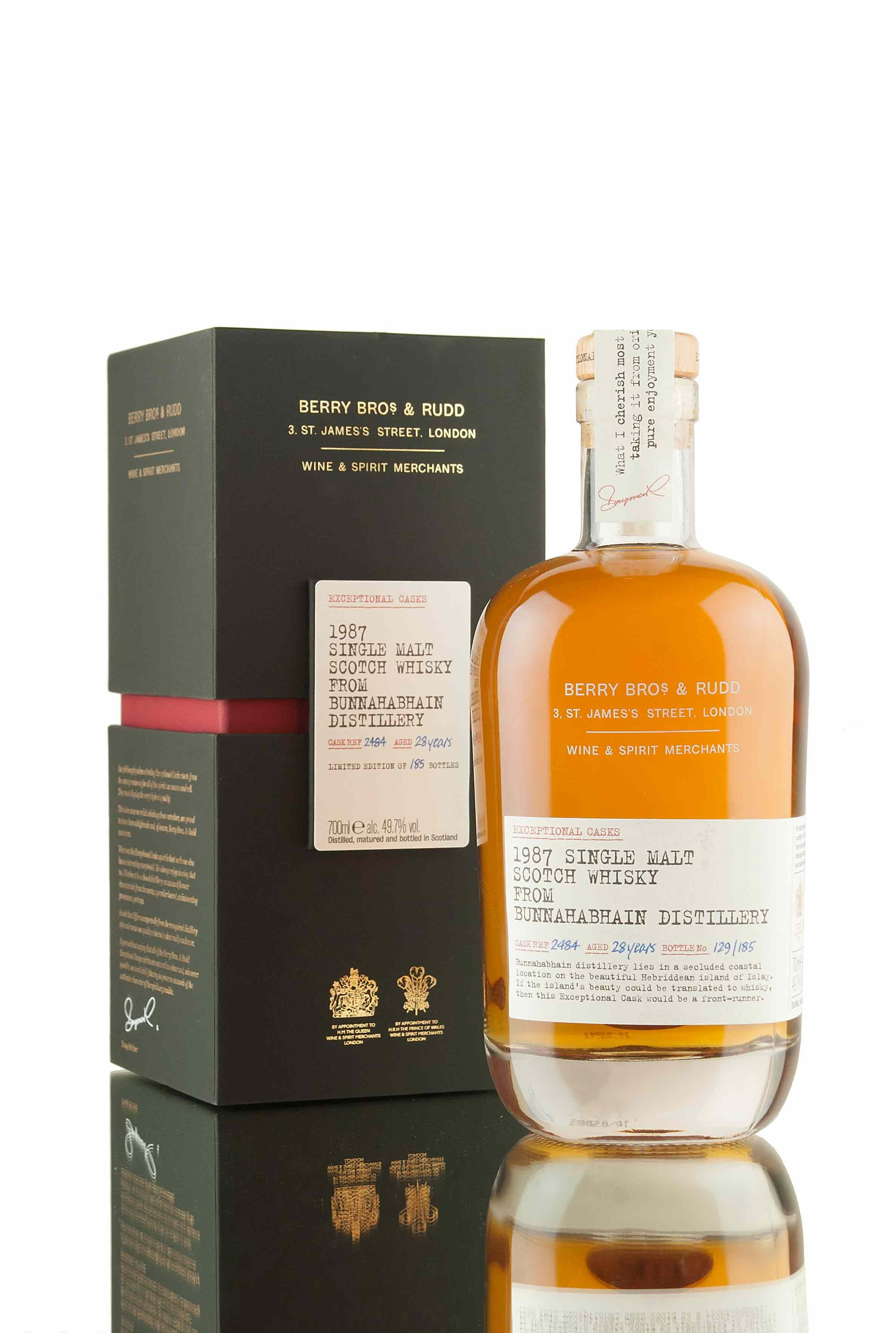 Bunnahabhain 28 Year Old - 1987 | Single Cask 2484