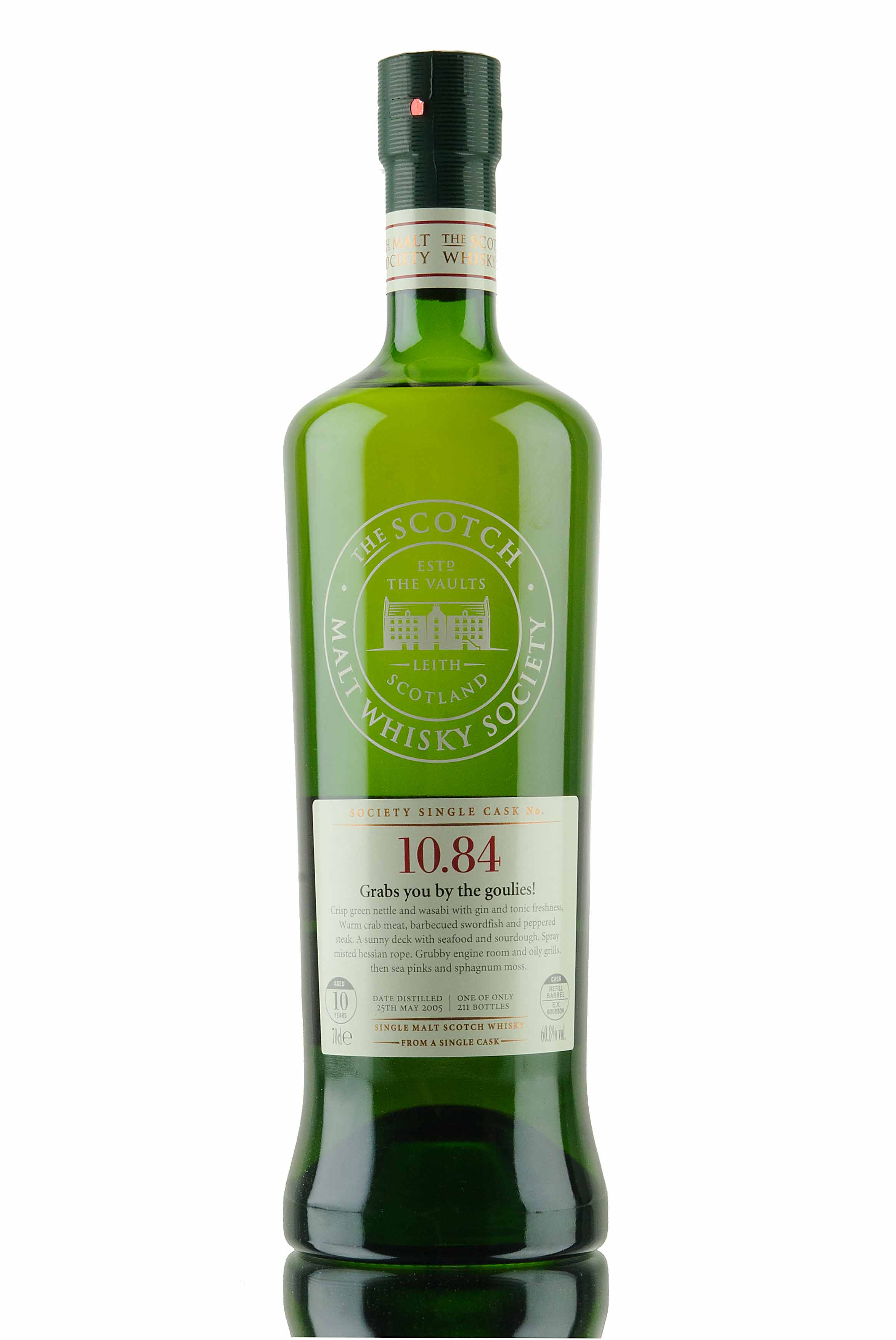 Bunnahabhain 10 Year Old - 2005 / SMWS 10.84