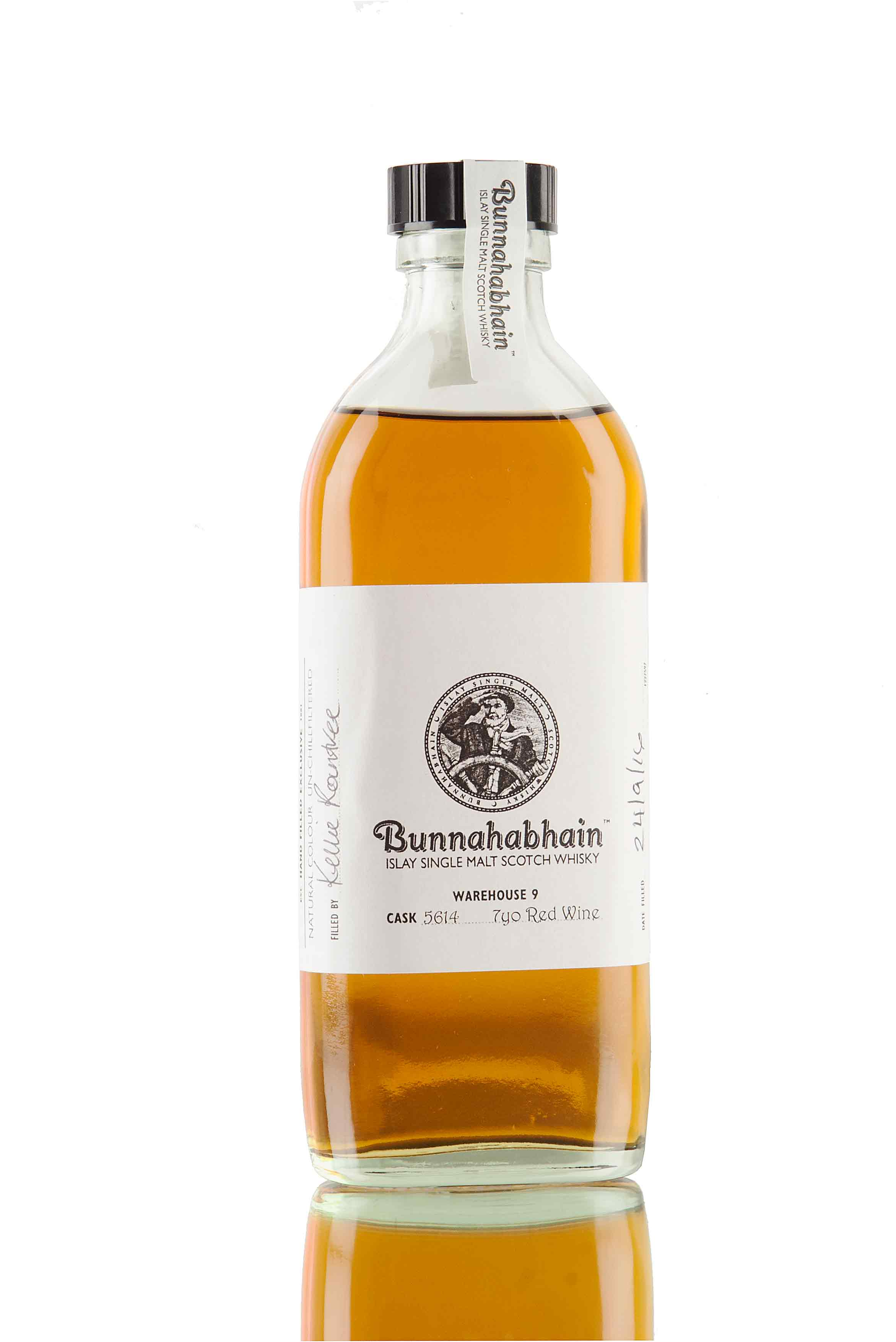 Bunnahabhain 7 Year Old - Hand Filled Exclusive / Cask 5614