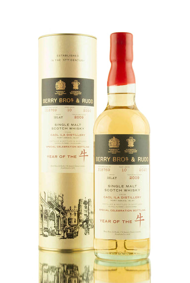 Caol Ila 10 Year Old - 2009 | Cask 318769 | Berry Bros & Rudd | Abbey Whisky