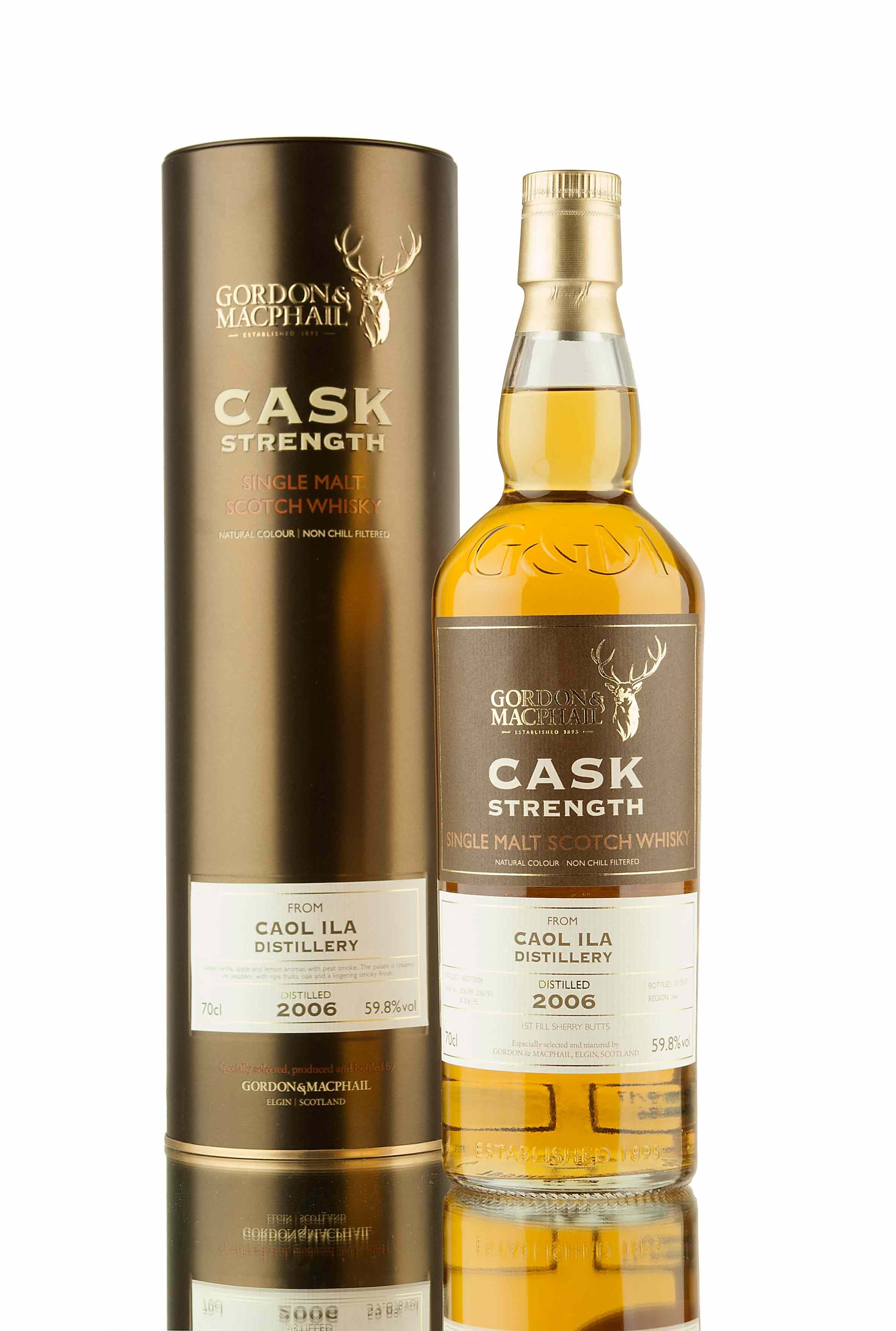 Caol Ila 11 Year Old - 2006 | Cask Strength (G&M)