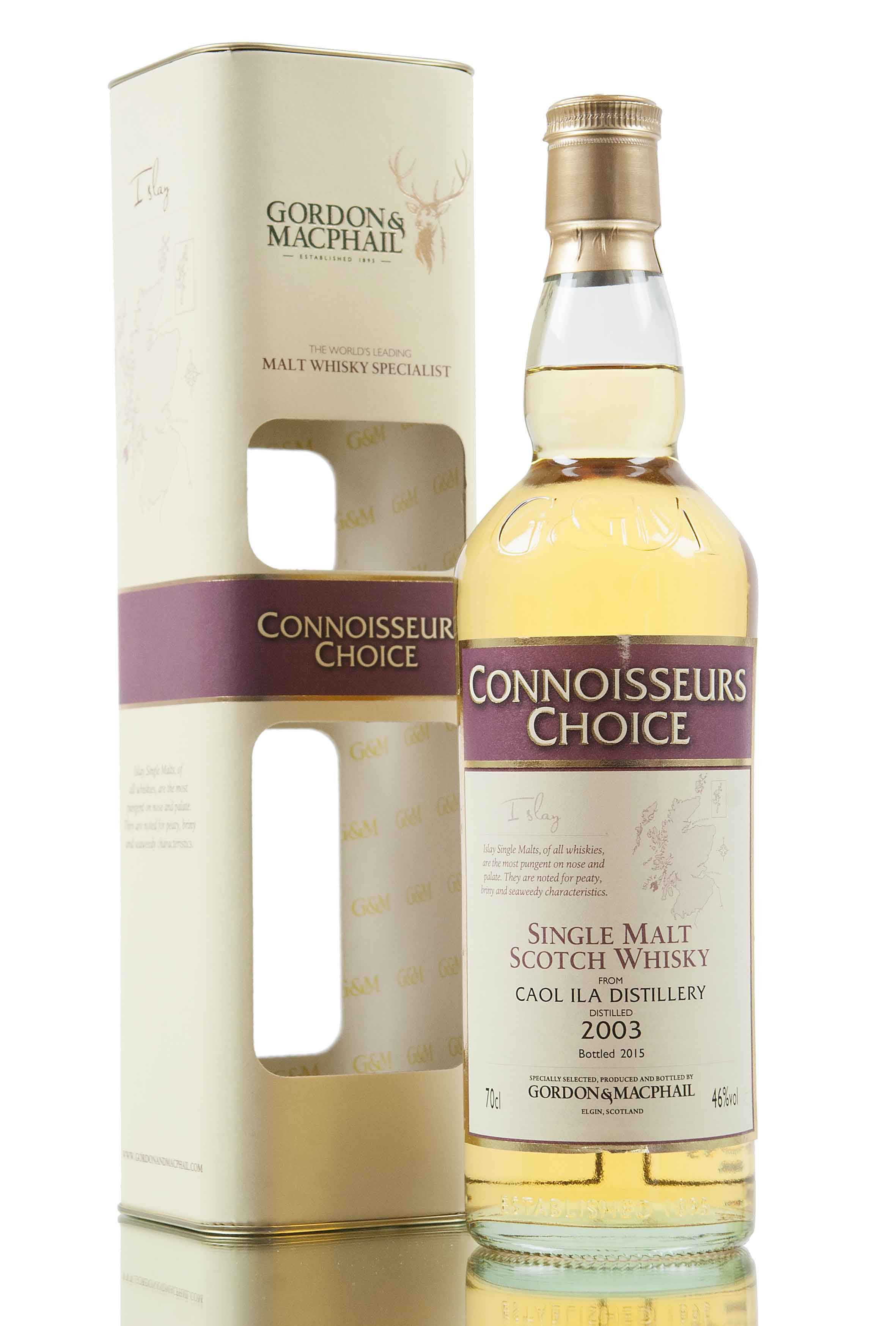 Caol Ila 2003 / Connoisseurs Choice / Bottled 2015