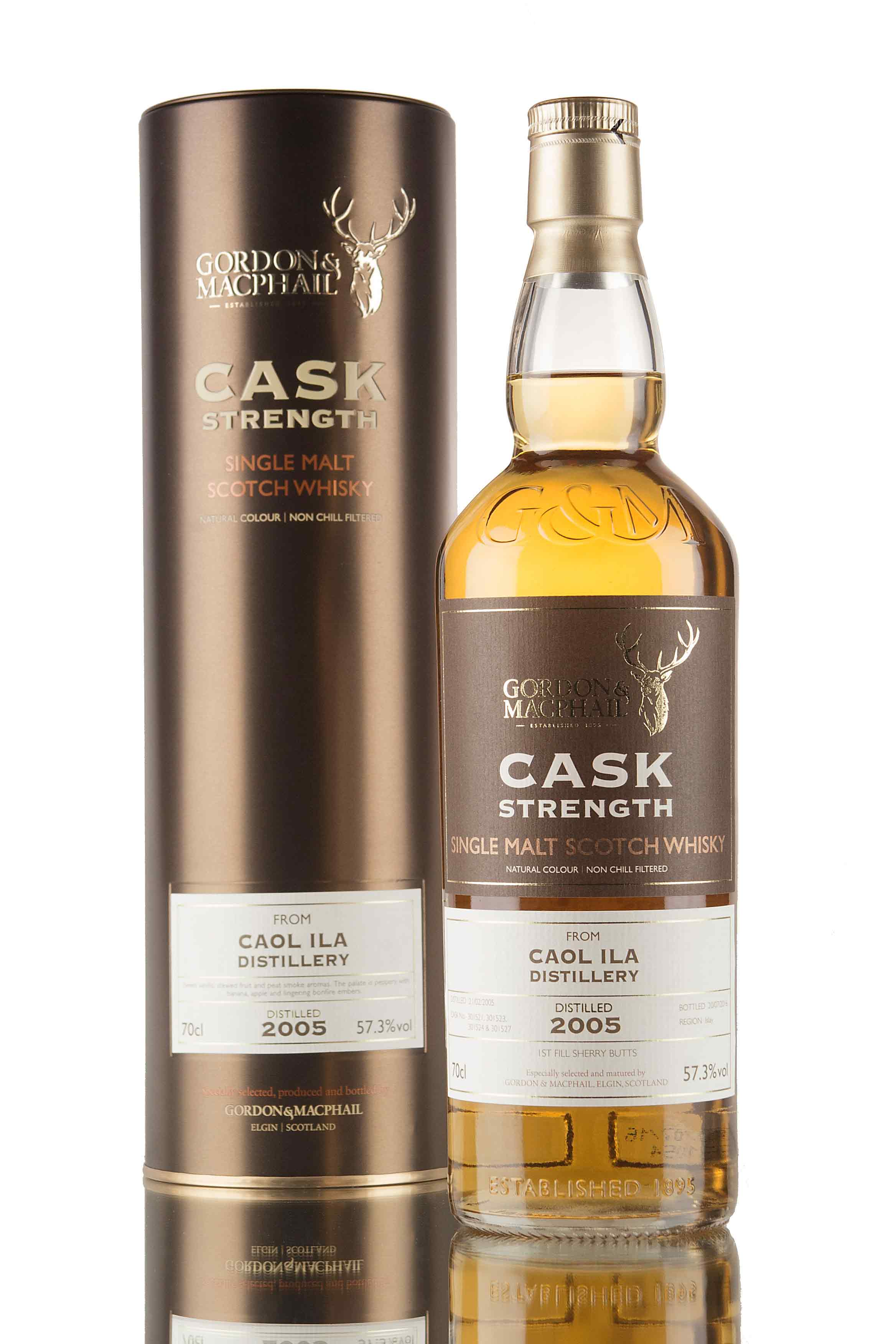 Caol Ila 11 Year Old - 2005 / Cask Strength (G&M)