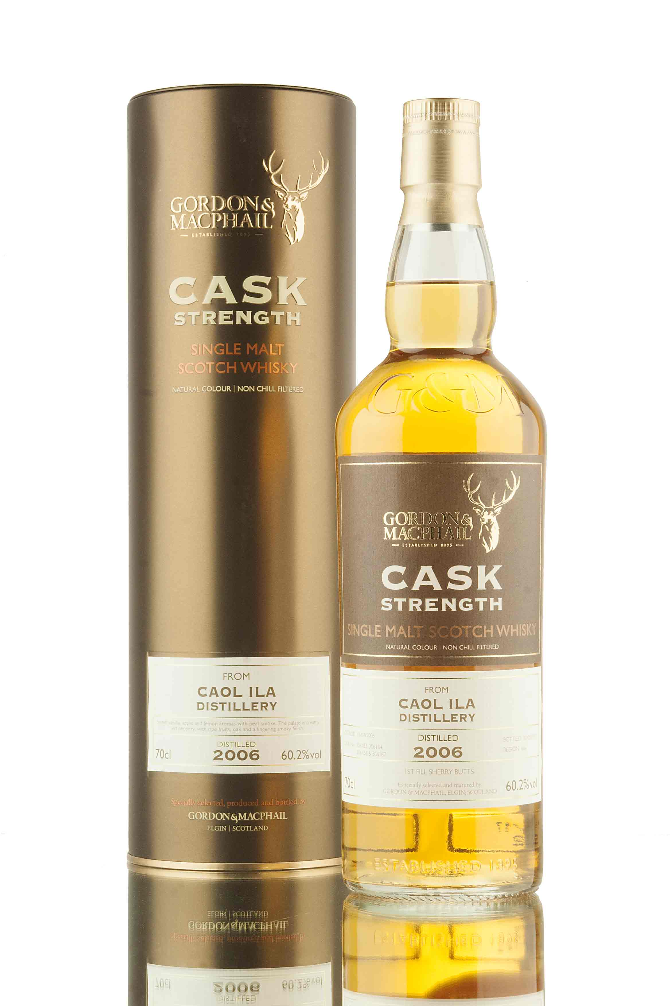 Caol Ila 10 Year Old - 2006 | Cask Strength (G&M)