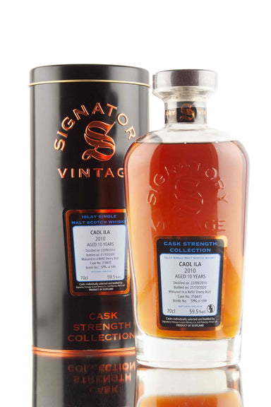 Caol Ila 10 Year Old - 2010 | Cask 316643 | Cask Strength Collection - Signatory | Abbey Whisky