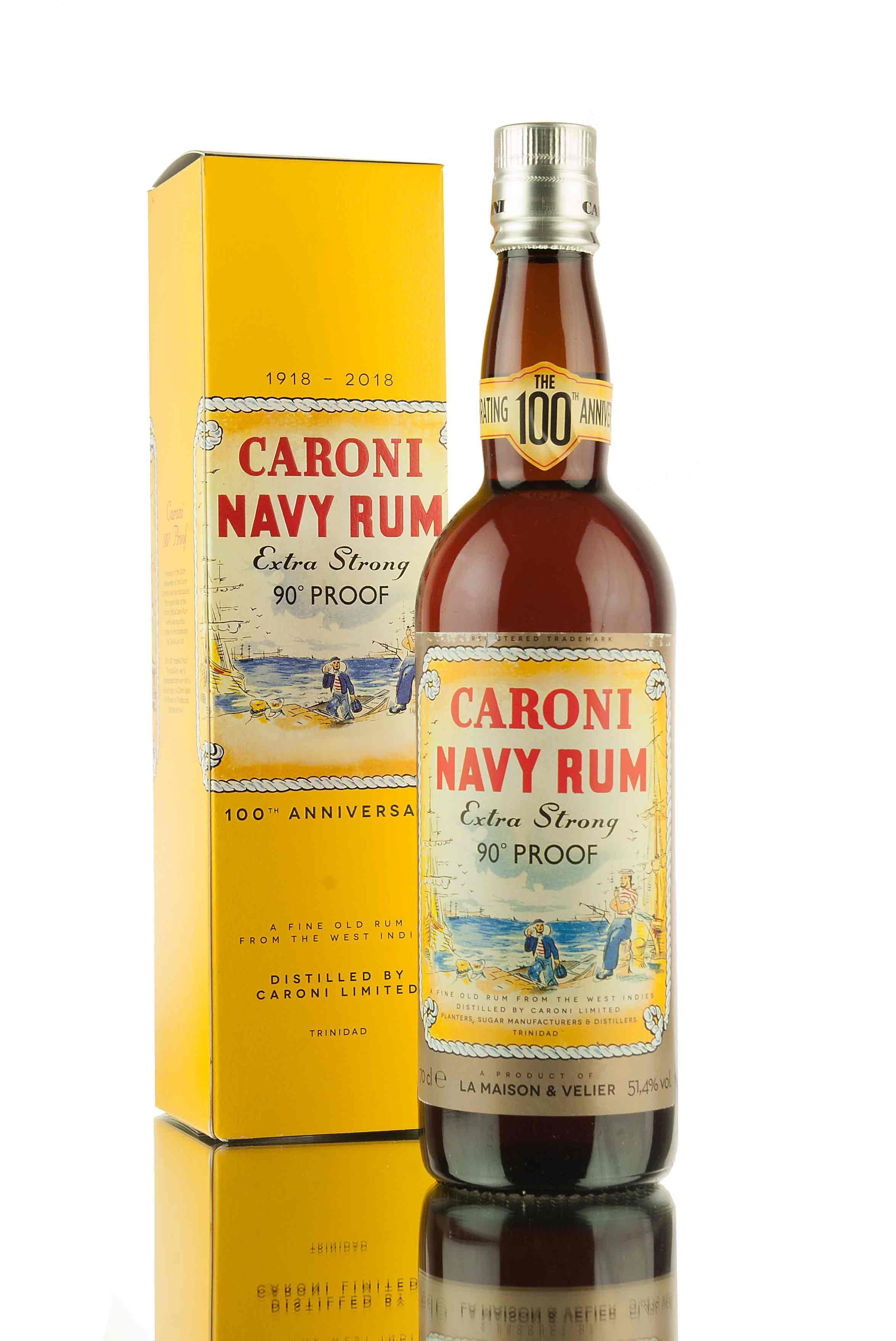 Caroni 18 Year Old Navy Rum - 100th Anniversary