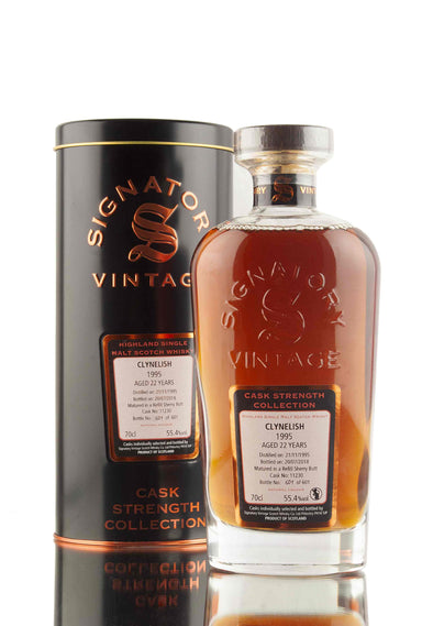Clynelish 22 Year Old - 1995 | Cask 11230 | Cask Strength Collection - Signatory | Abbey Whisky
