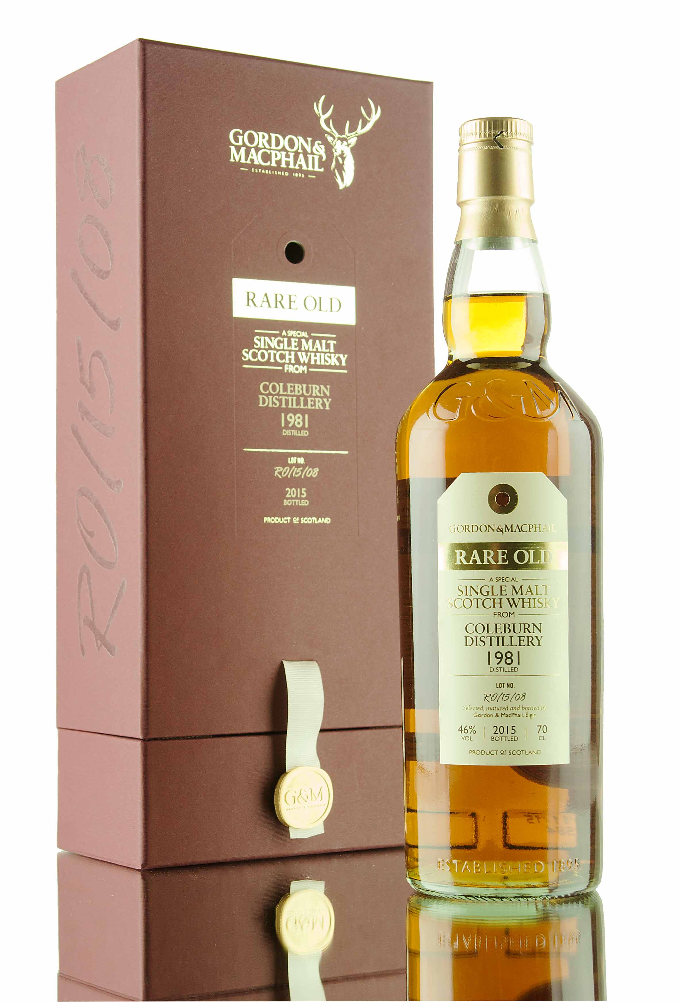 Coleburn 1981 Rare Old | Gordon & MacPhail | Bottled 2015