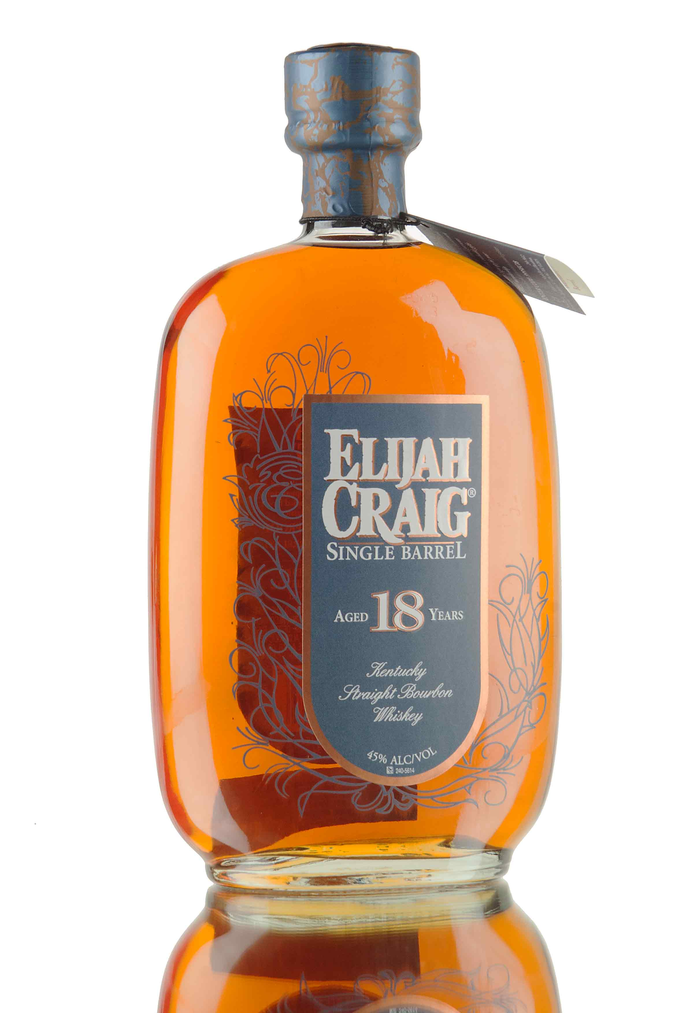 Elijah Craig 18 Year Old Single Barrel #4238