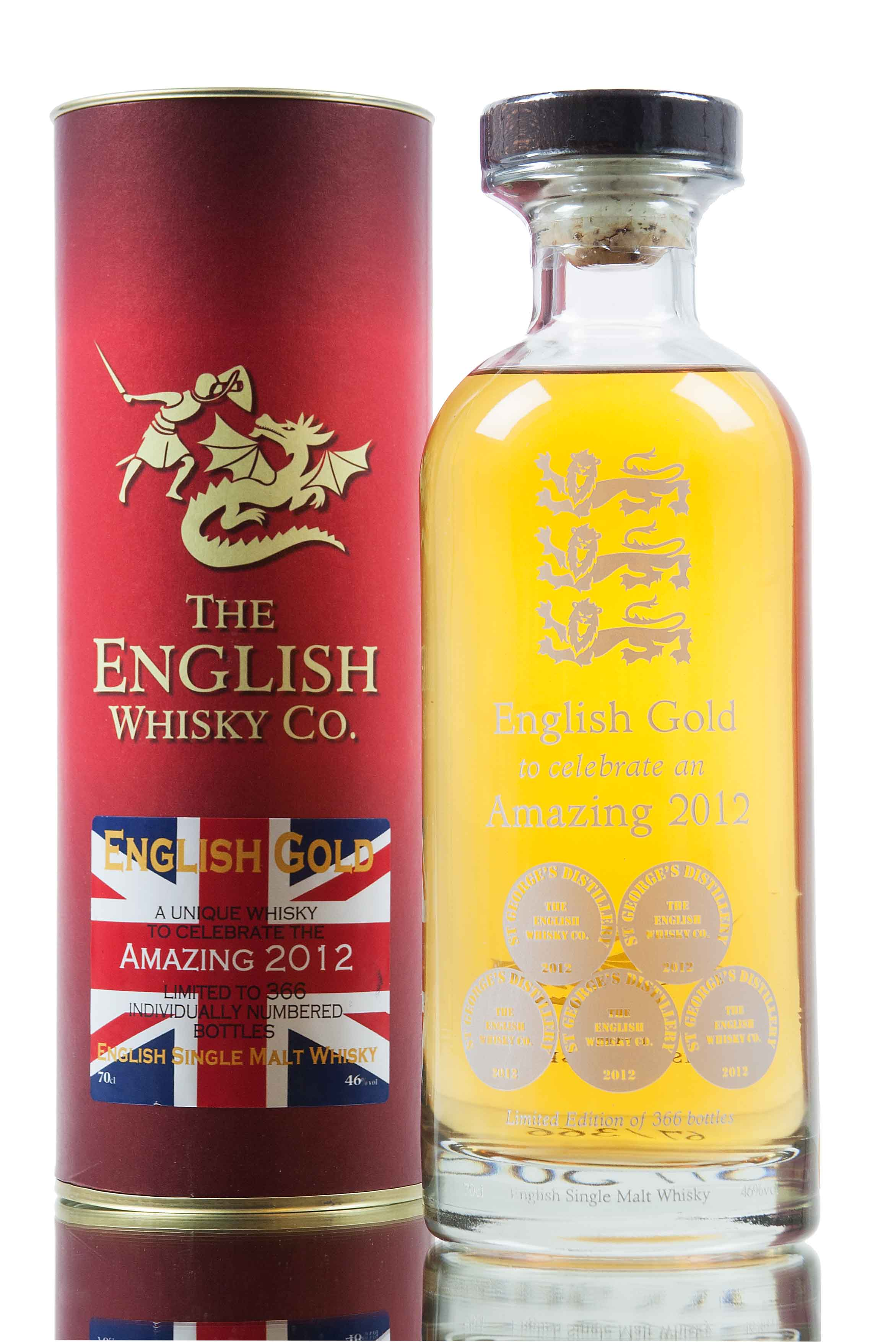 English Whisky Co / English Gold Amazing 2012