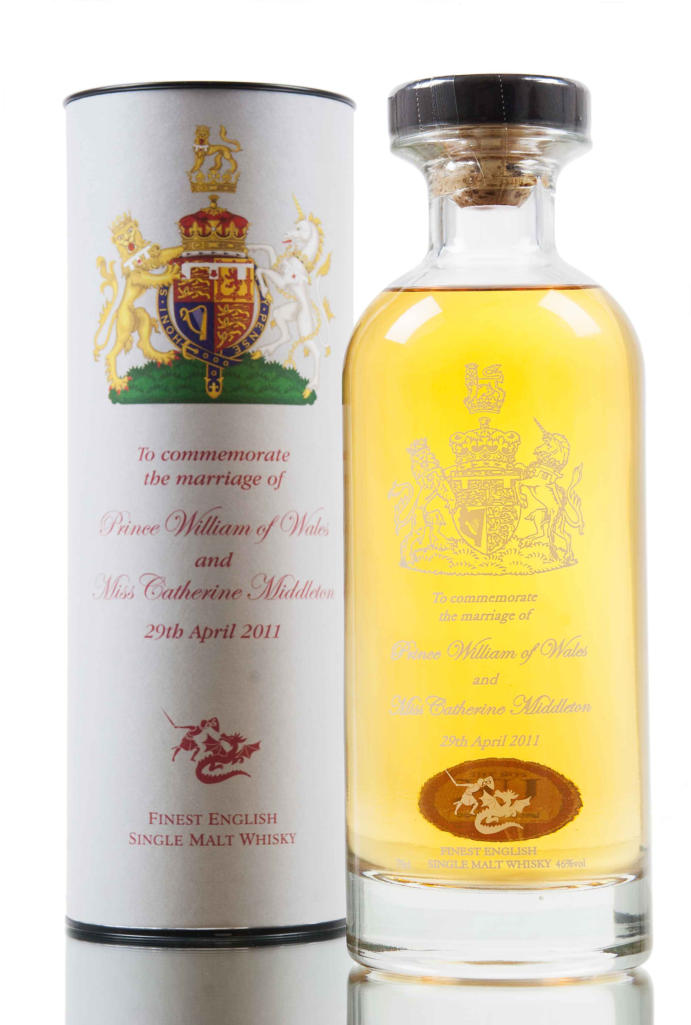 English Whisky Co / Royal Marriage / William & Kate