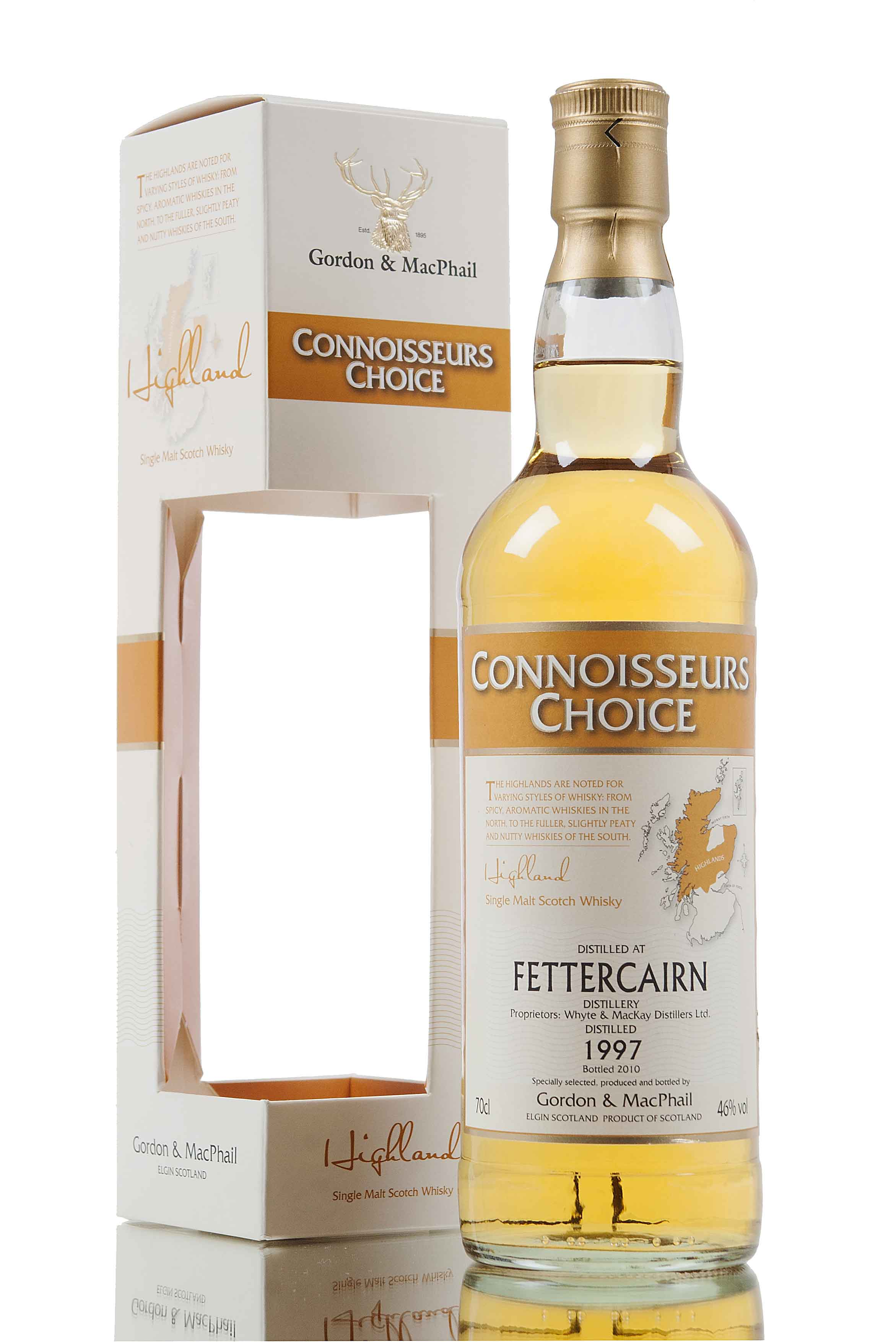 Fettercairn 1997 / Connoisseurs Choice / Bottled 2010