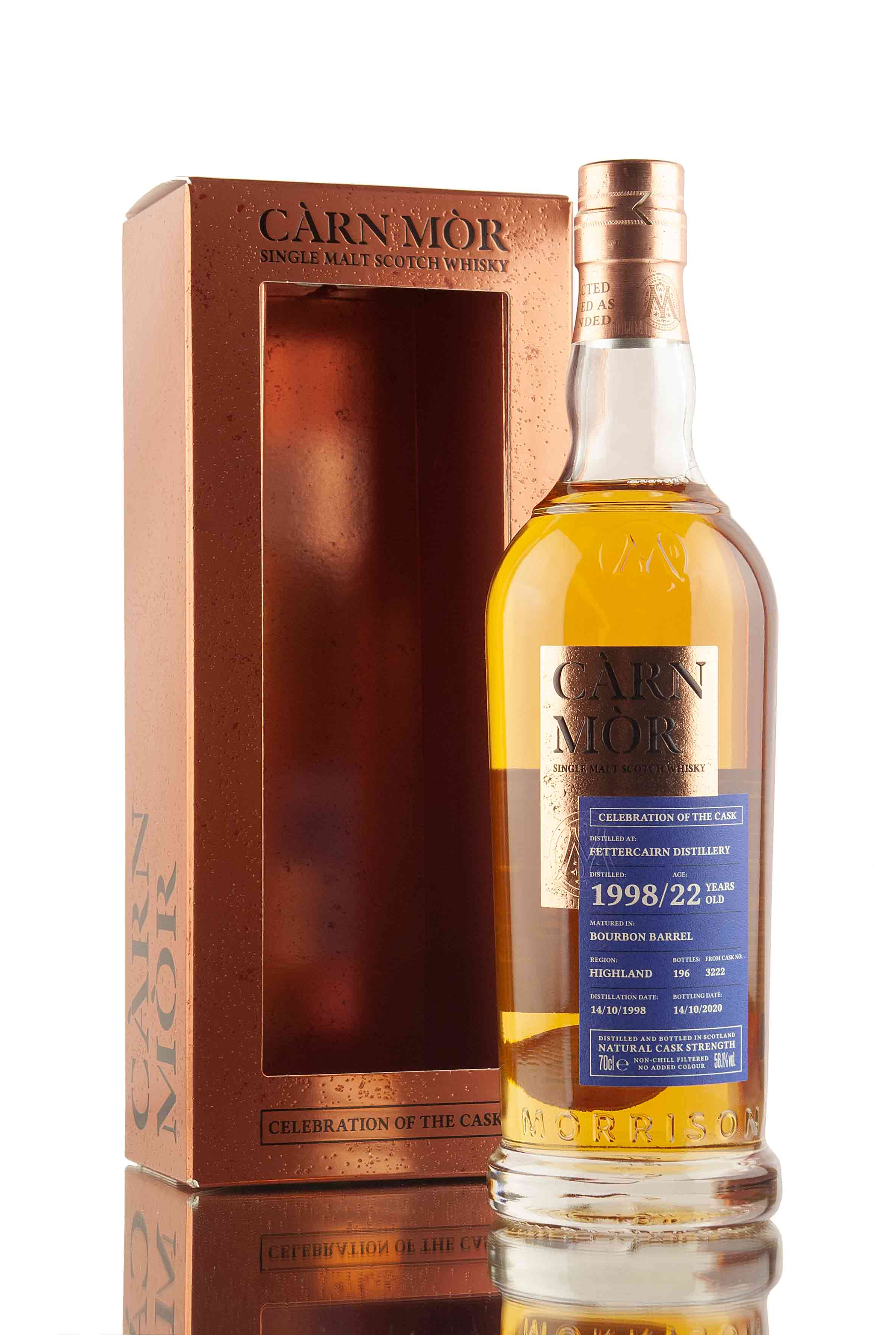 Fettercairn 22 Year Old - 1998 | Cask 3222 | Celebration of the Cask | Abbey Whisky