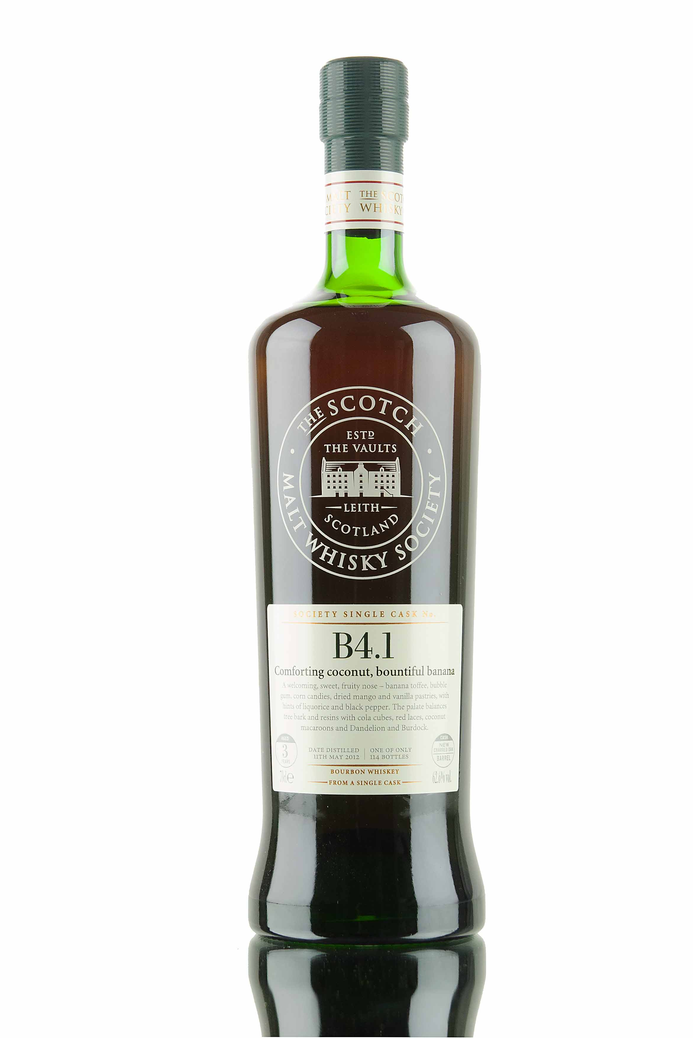FEW 3 Year Old - 2012 / SMWS B4.1