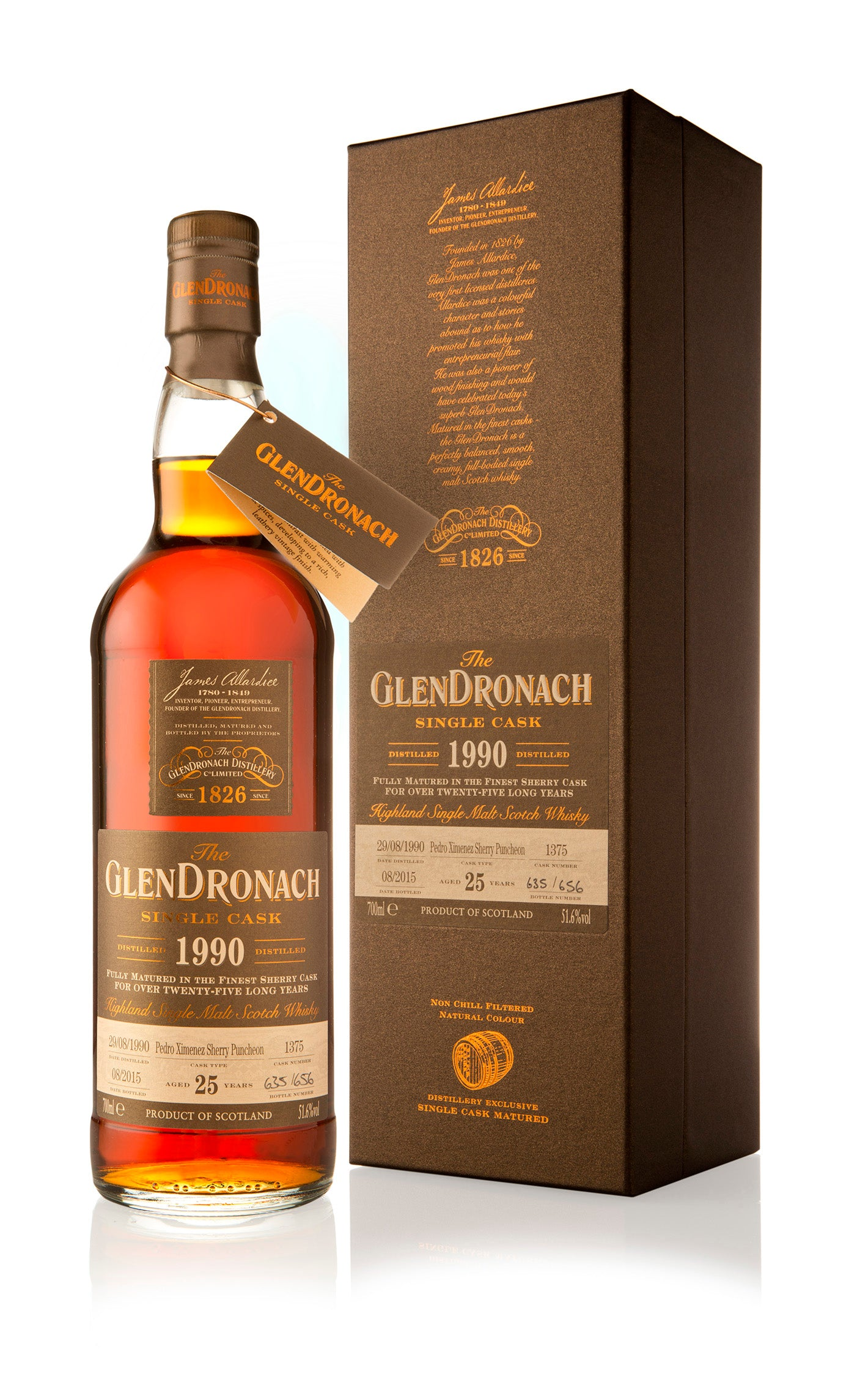 GlenDronach 1990 25 Year Old Cask 1375 / Batch 12