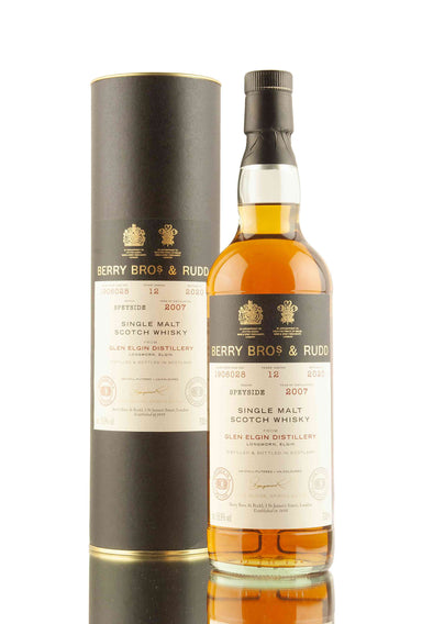 Glen Elgin 12 Year Old - 2007 | Cask 1906028 | Berry Bros & Rudd | Abbey Whisky