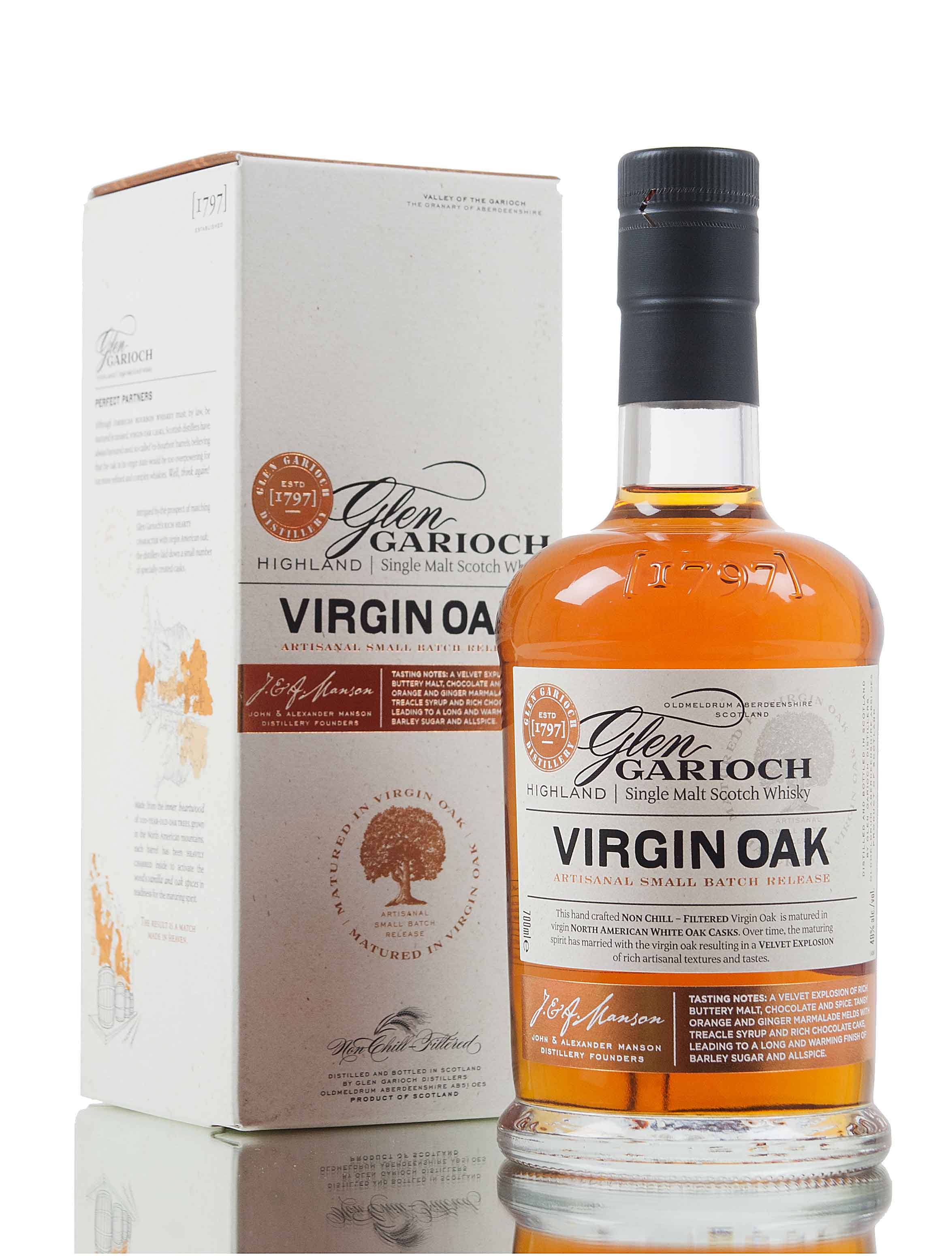 Glen Garioch Virgin Oak / Small Batch Release
