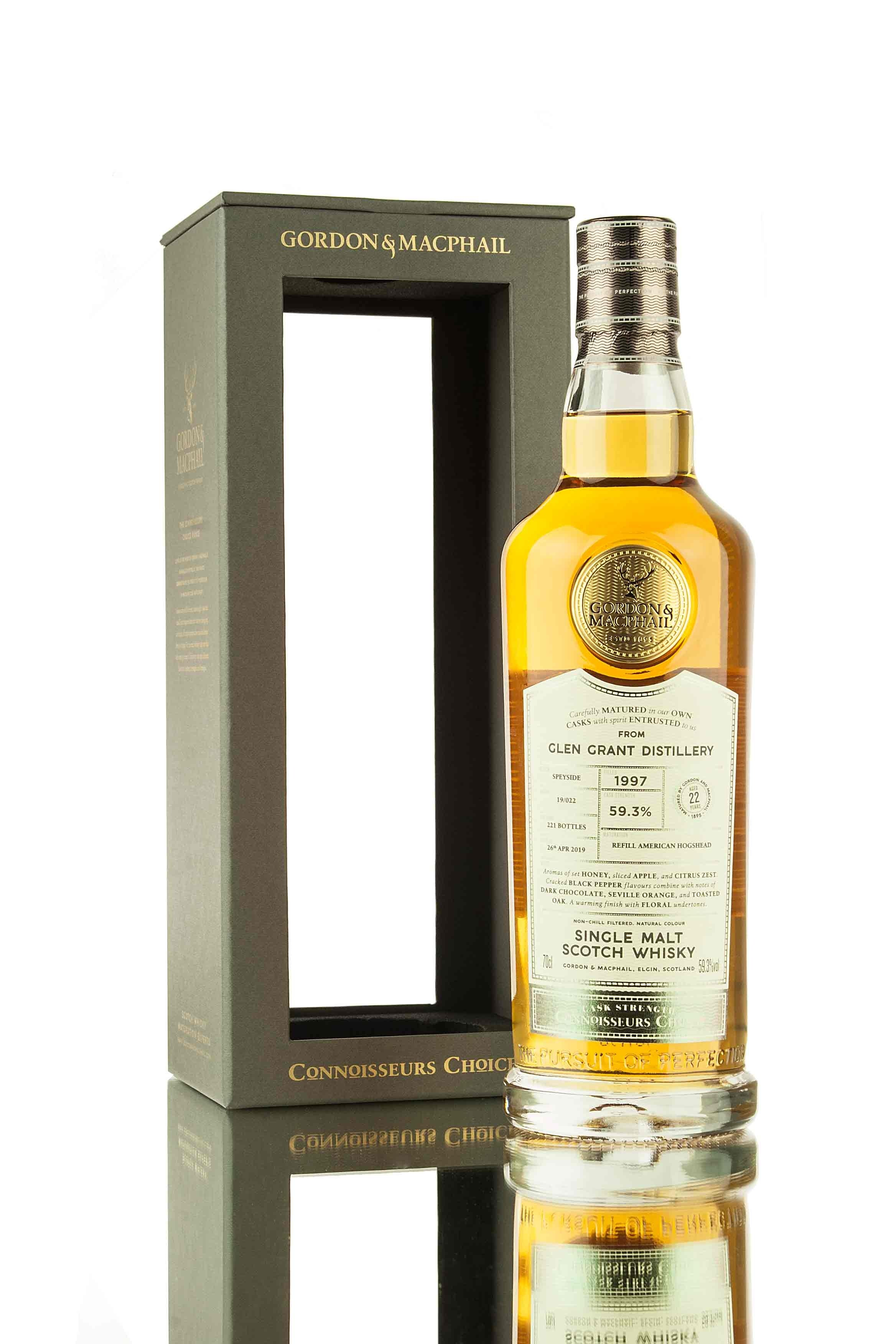 Glen Grant 22 Year Old - 1997 | Connoisseurs Choice (G&M)