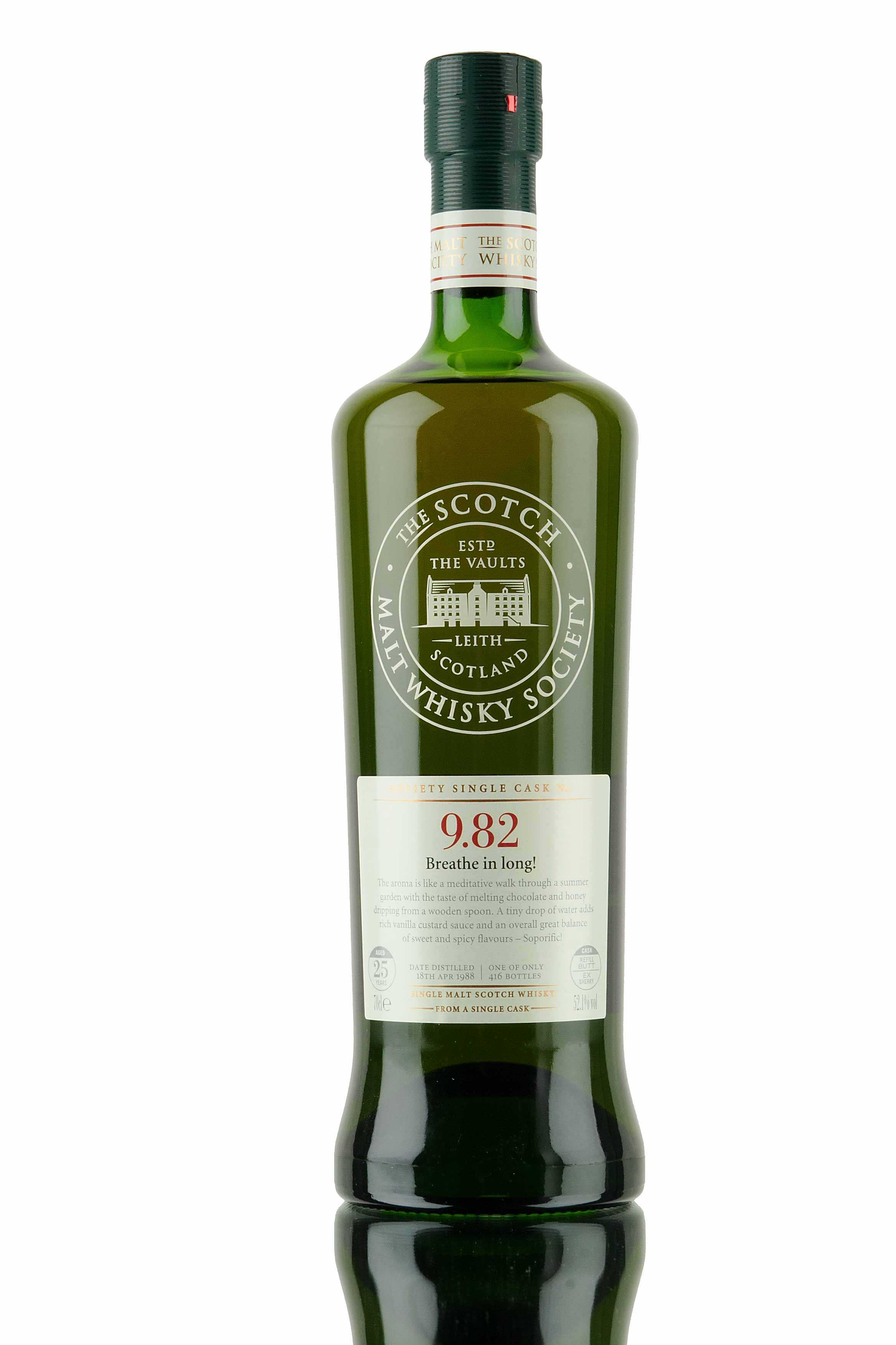 Glen Grant 1988 / 25 Year Old / SMWS 9.82